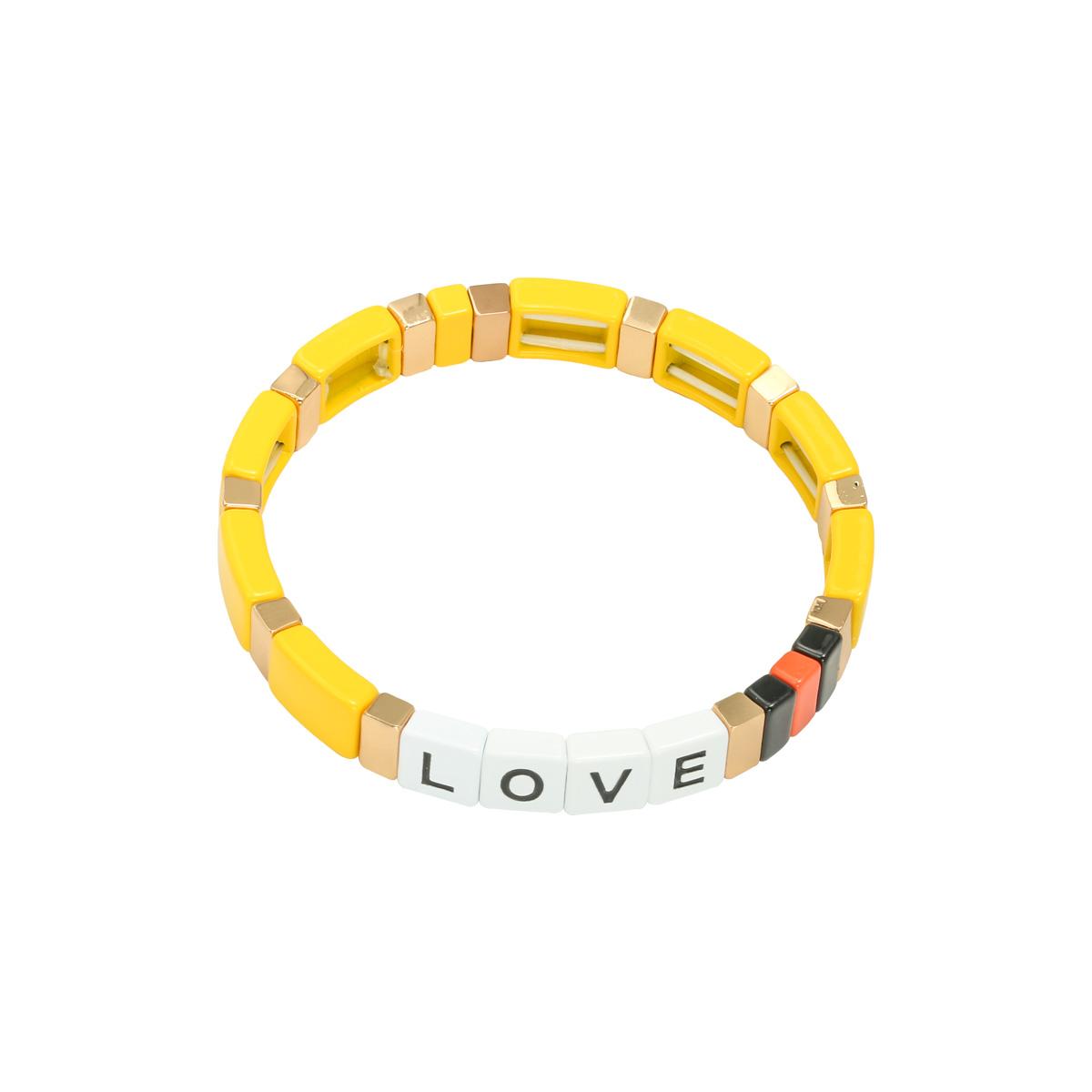 Bracelet Colourful Love