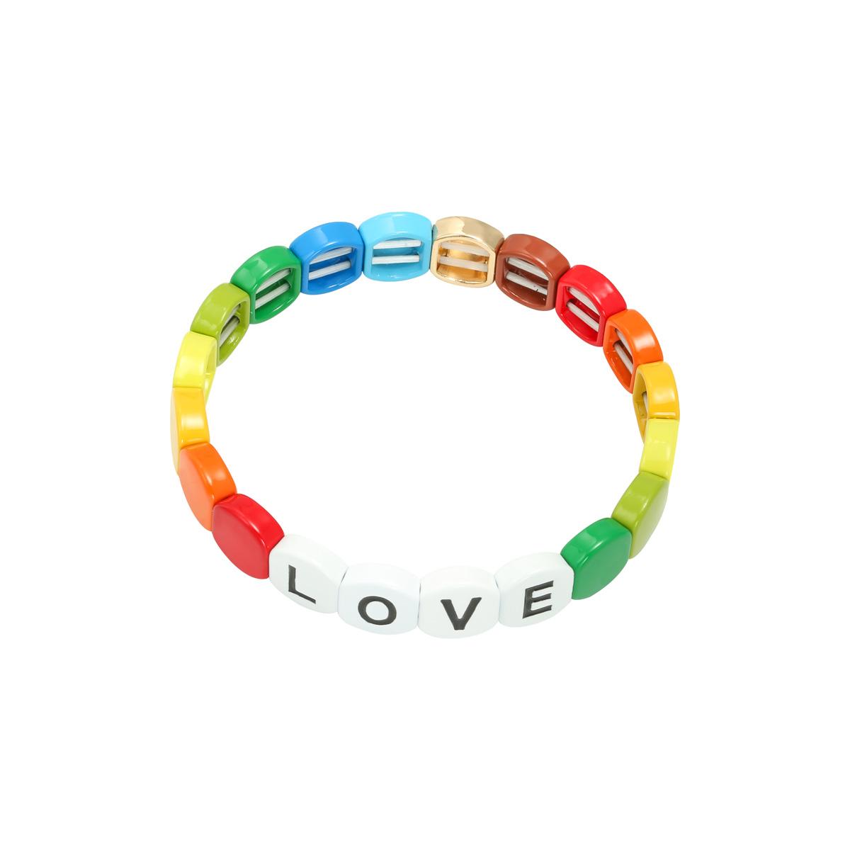 Pulsera Colourful Love Round