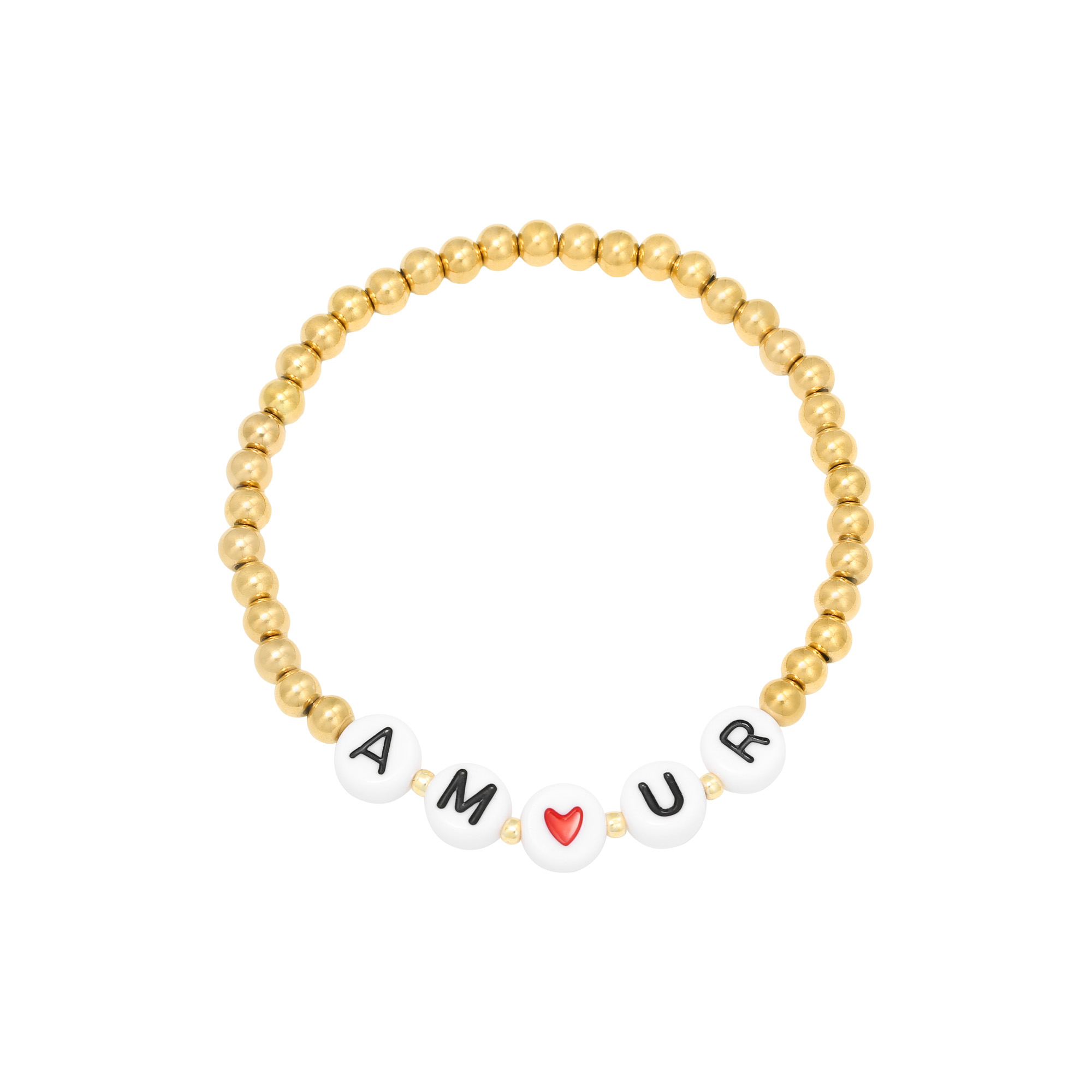 Bracelet Beaded Amour