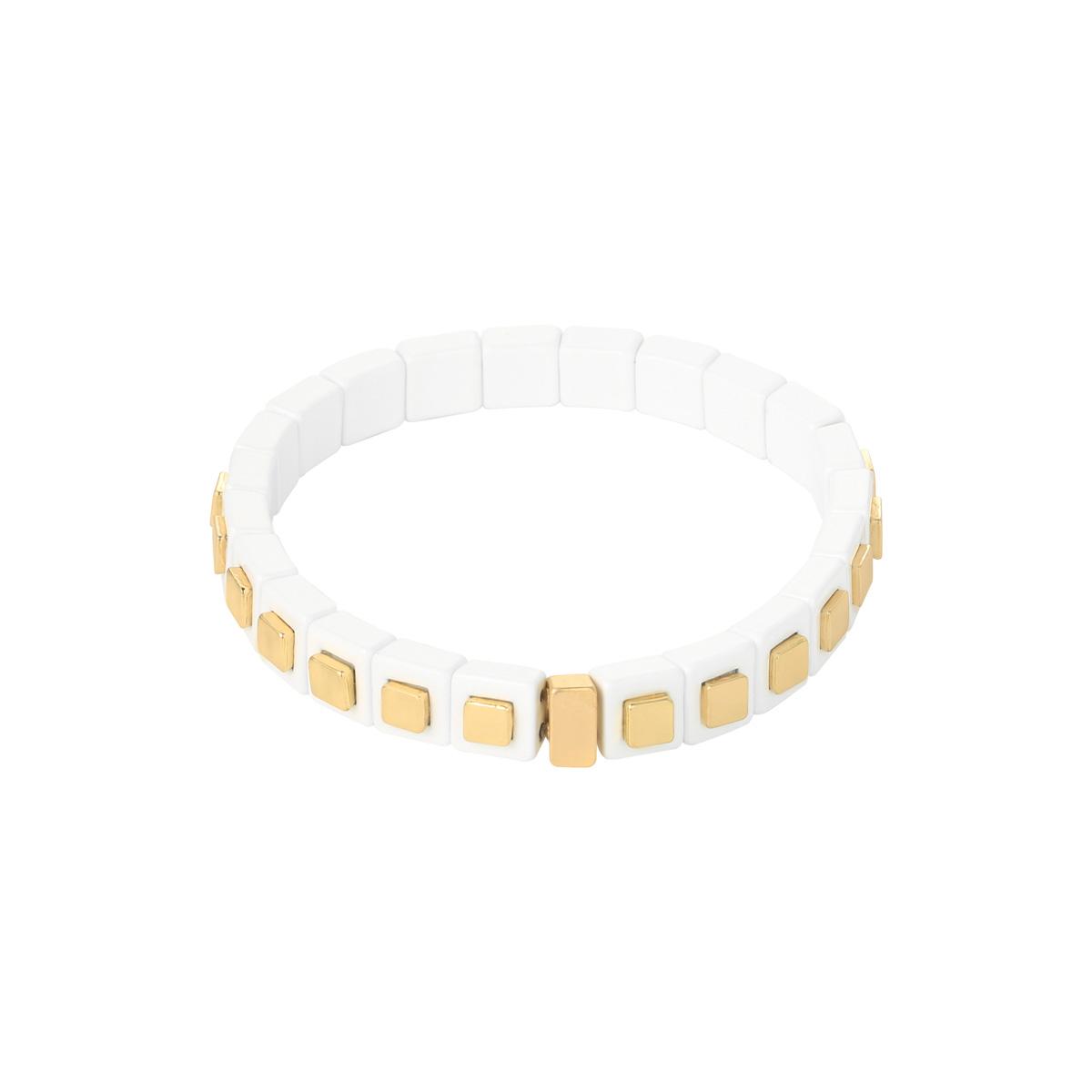 Pulsera Bricks Gold