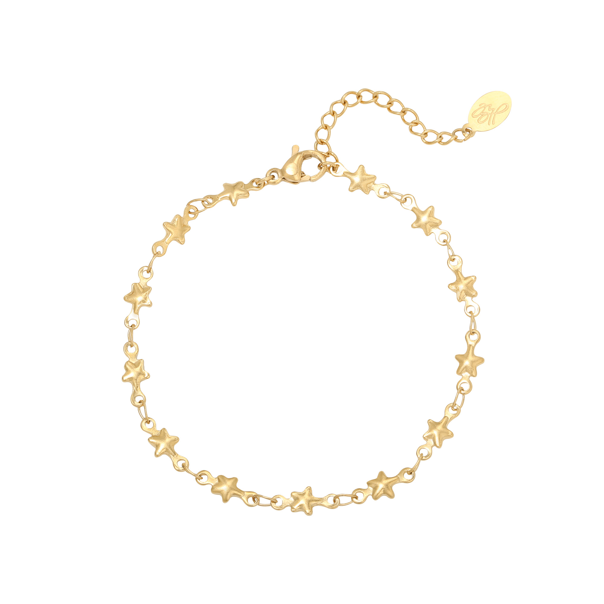 Pulsera chained star