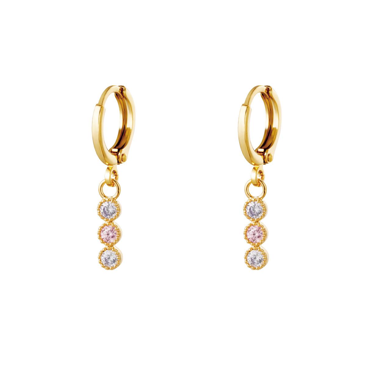 Earrings Elegant Stones