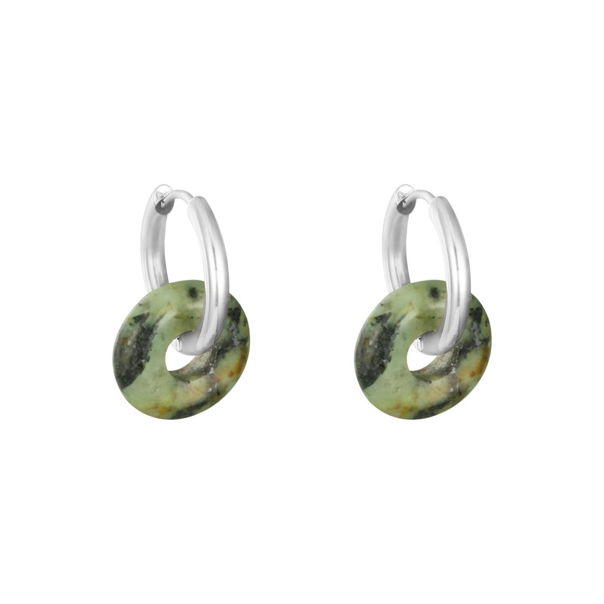 Boucles d'oreilles Hooped