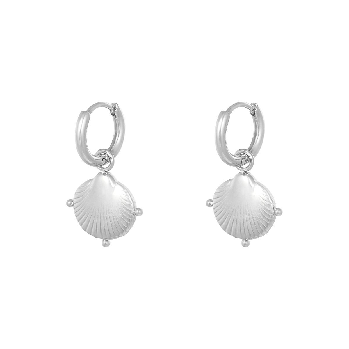 Boucles d'oreilles Clam Shell