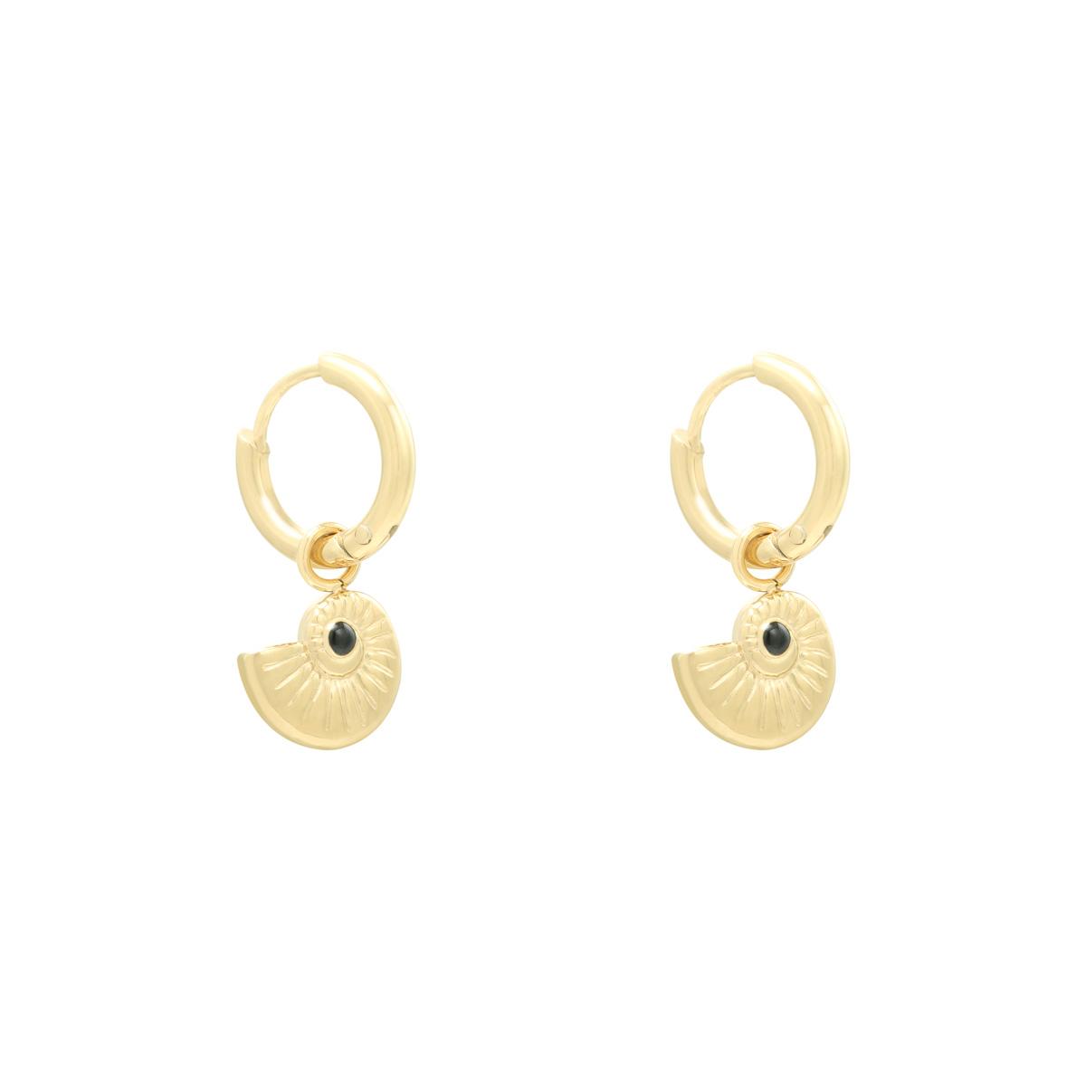 Earrings Shell Around