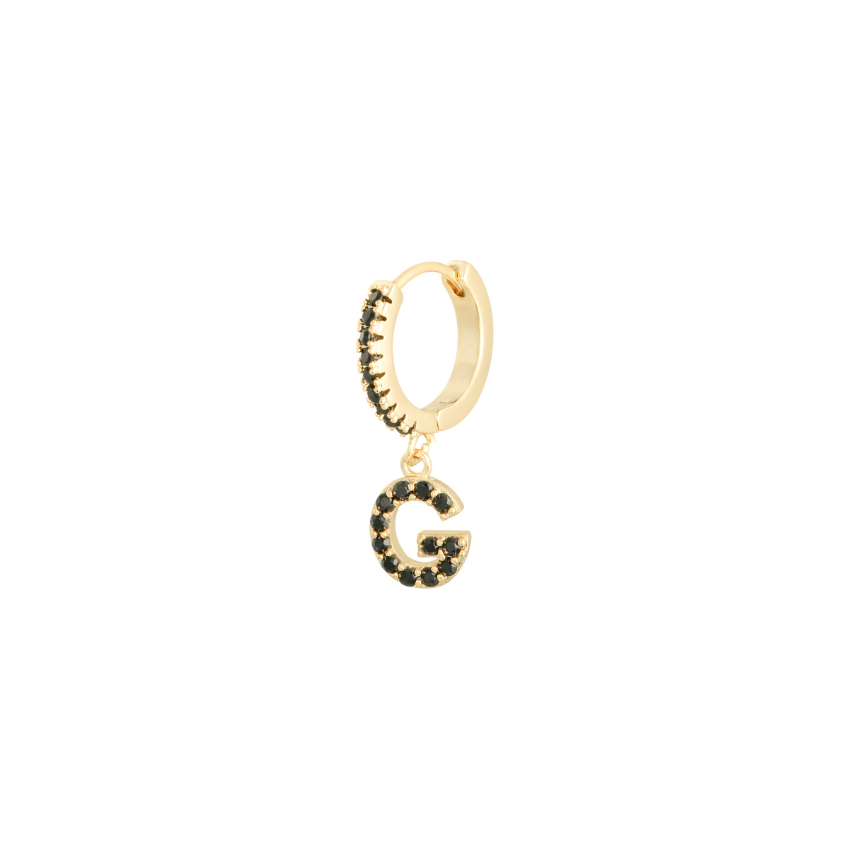 Earrings Letter G