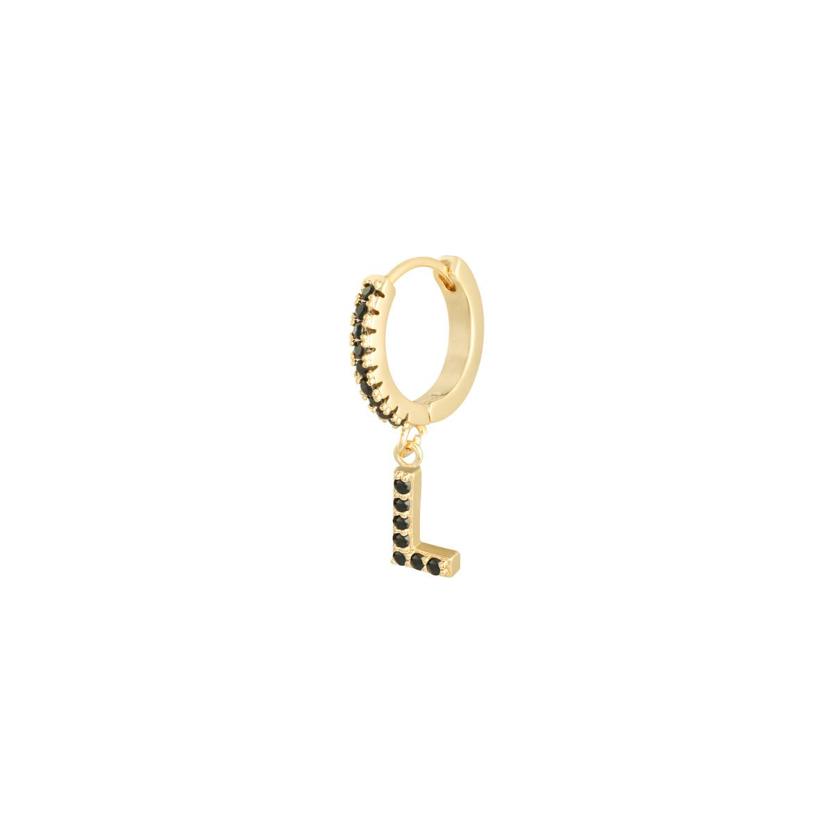 Earrings Letter L