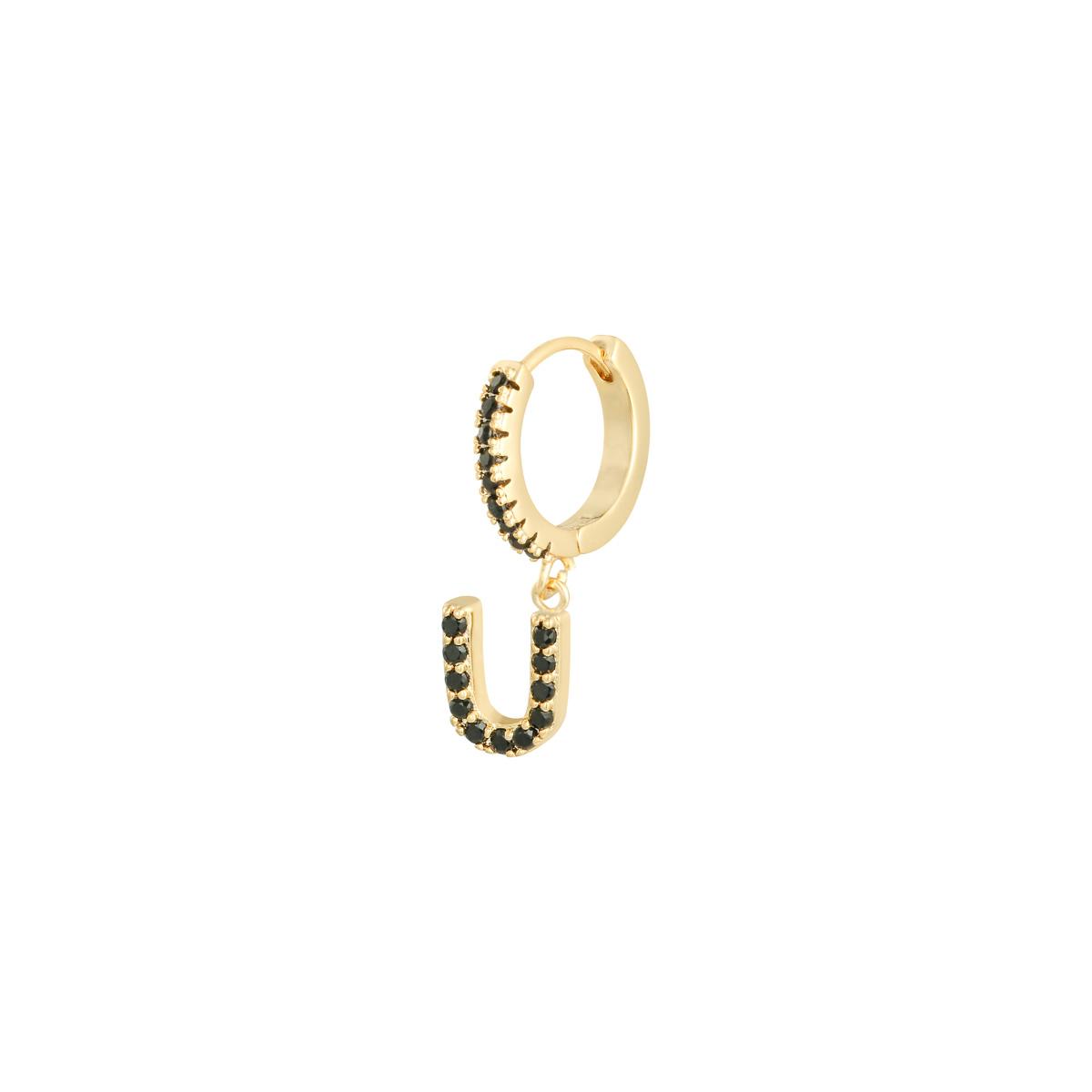 Earrings Letter U