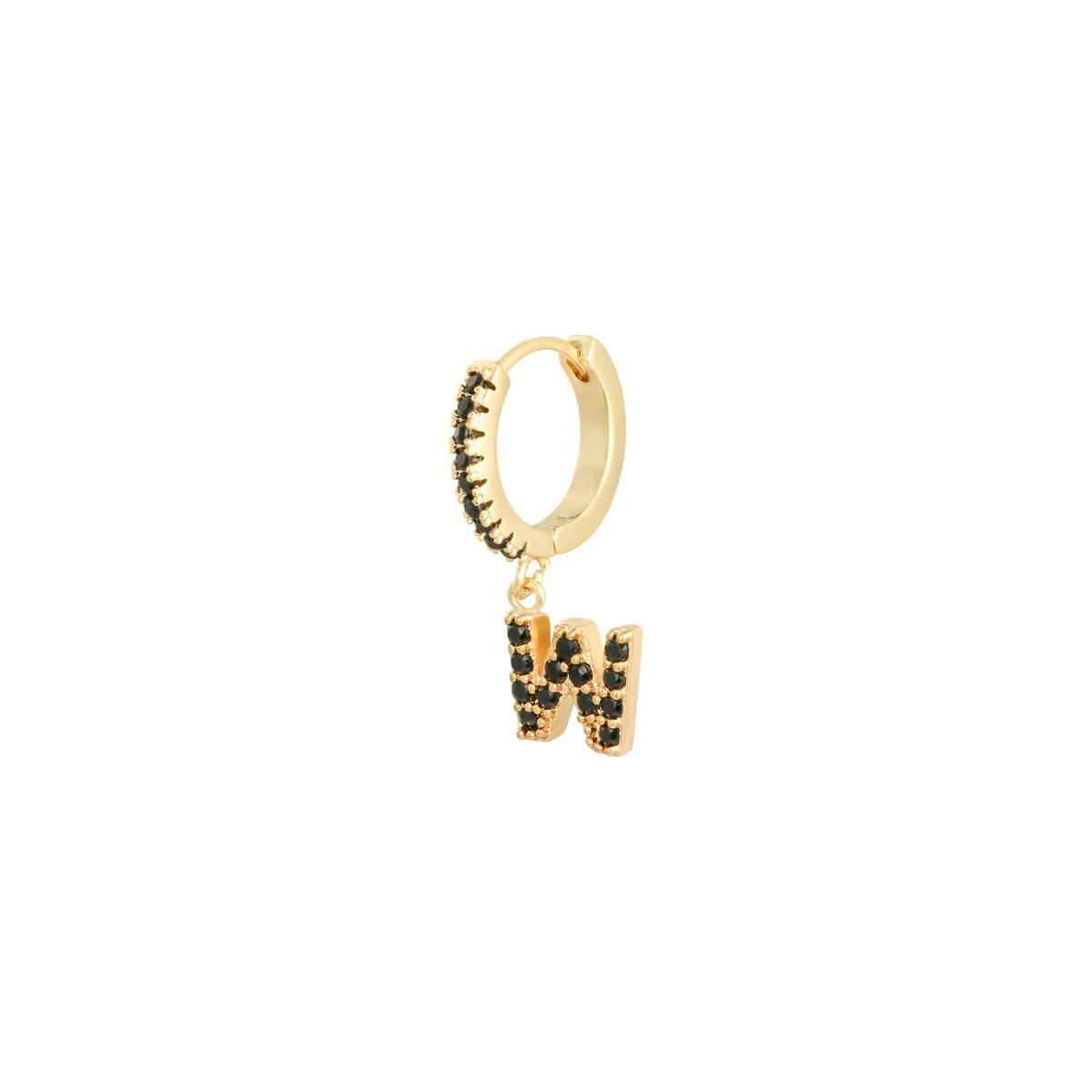 Earrings Letter W