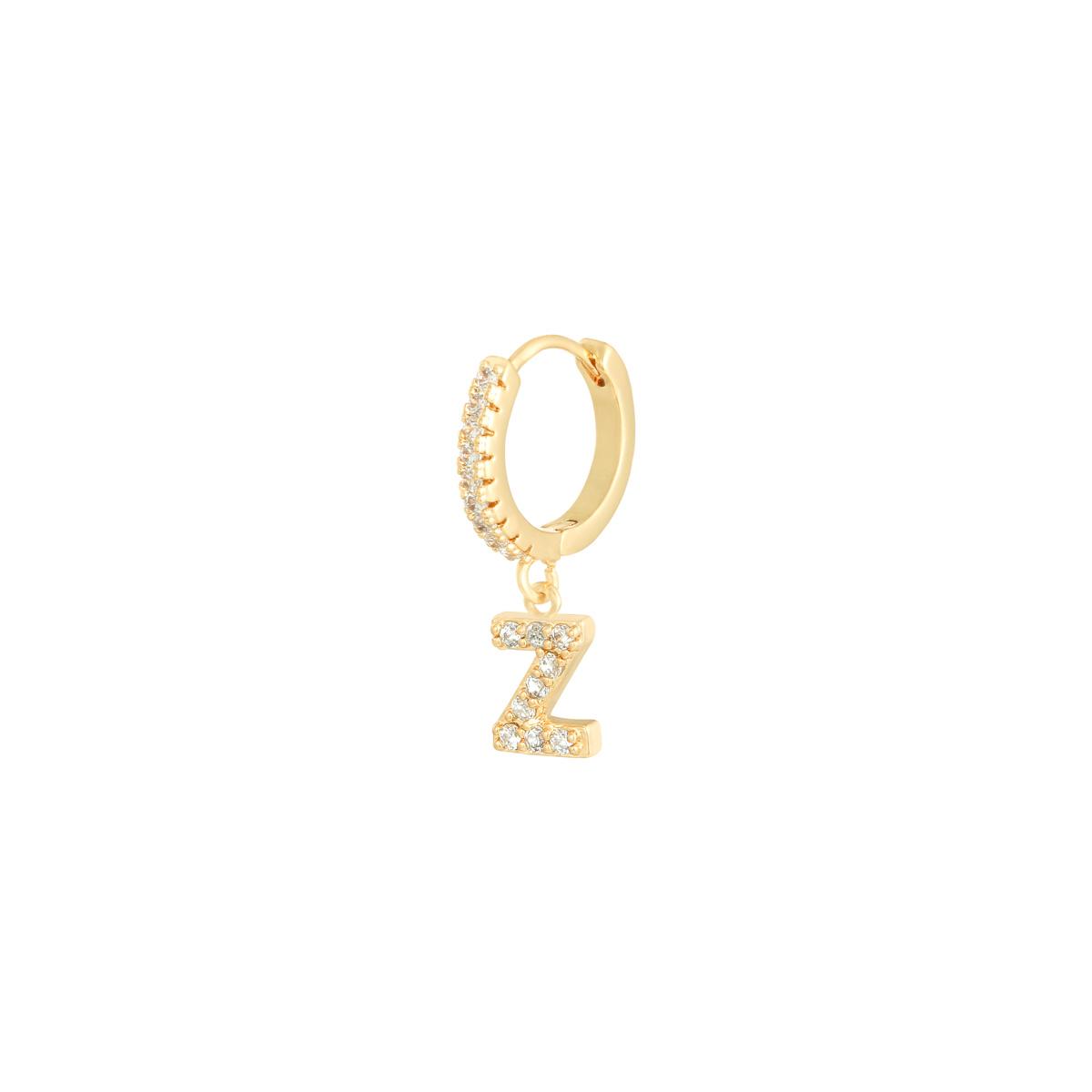 Oorbellen Letter Z