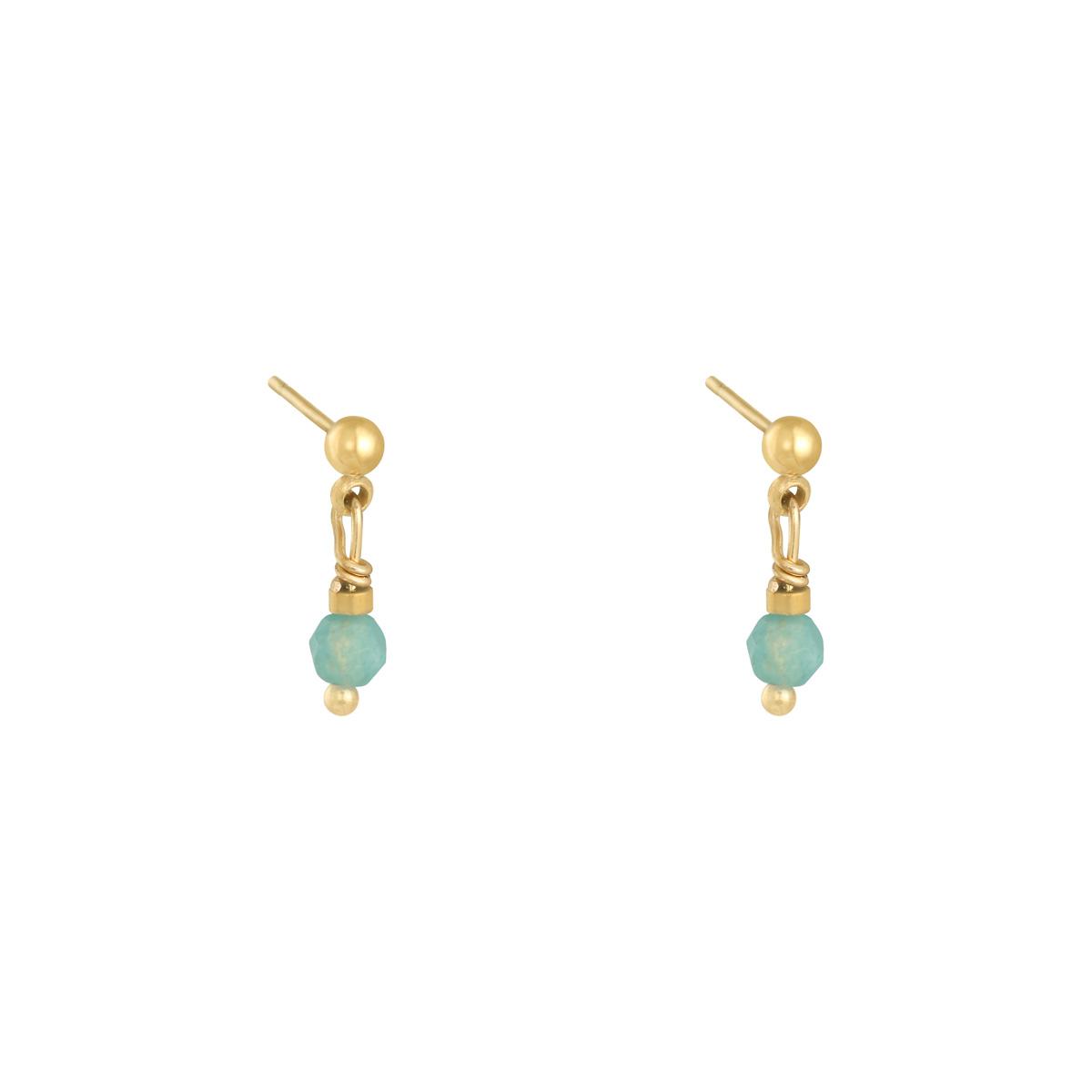 Earrings Peacock