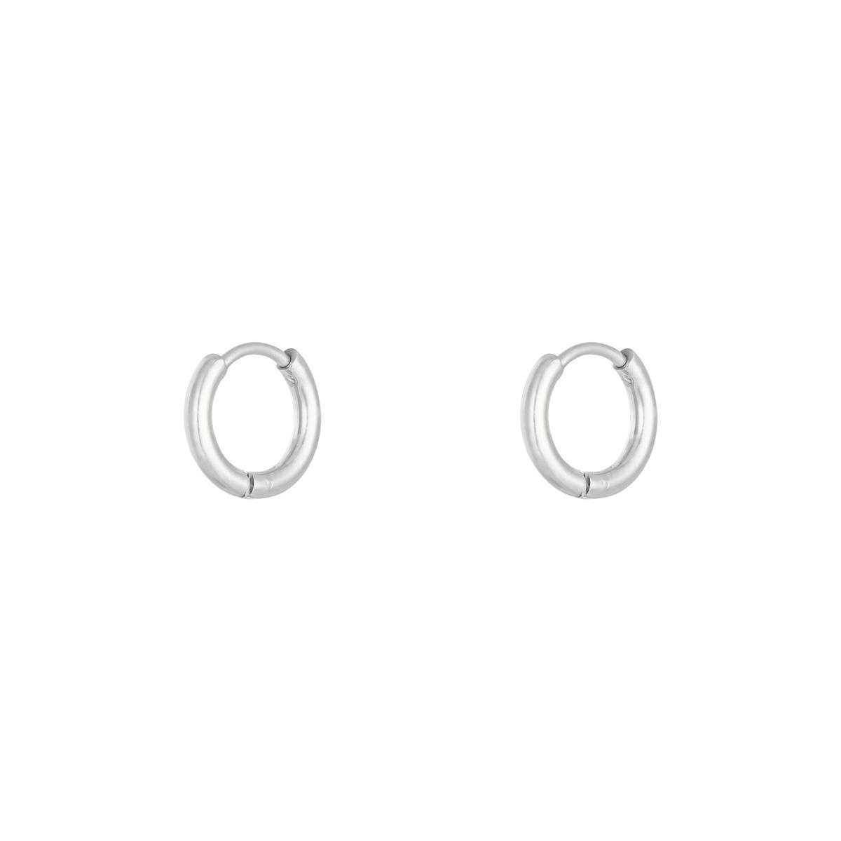 Ohrringe little hoops 1,2cm