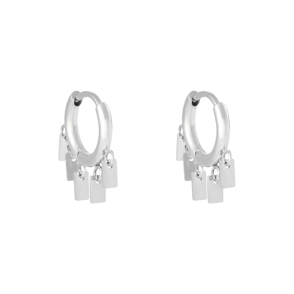 Boucles d'oreilles Floating Rectangles