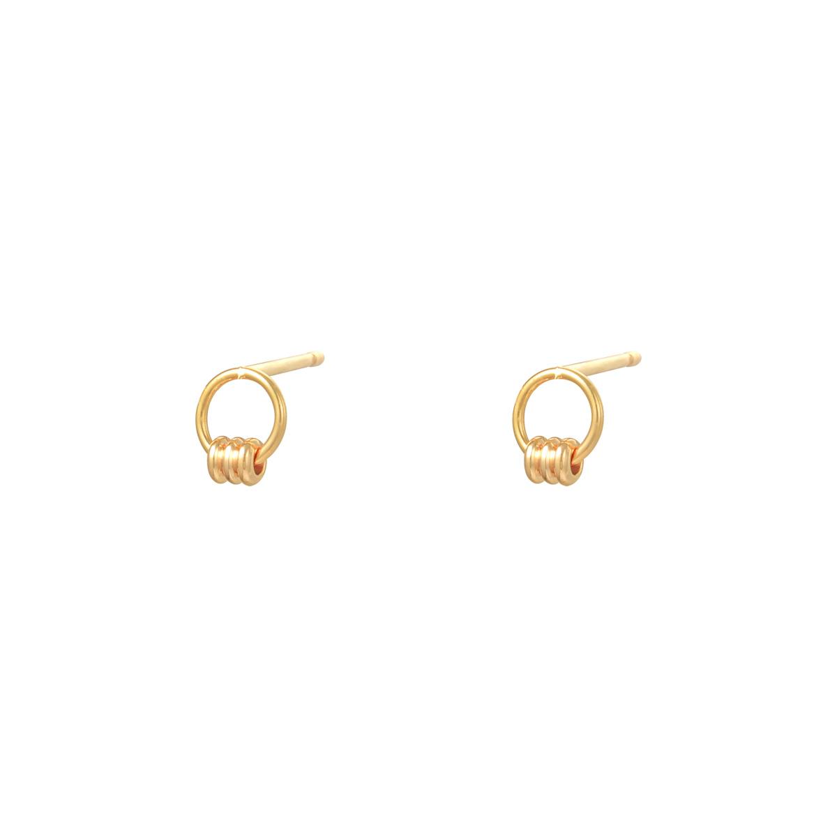 Earrings Tiny Roll
