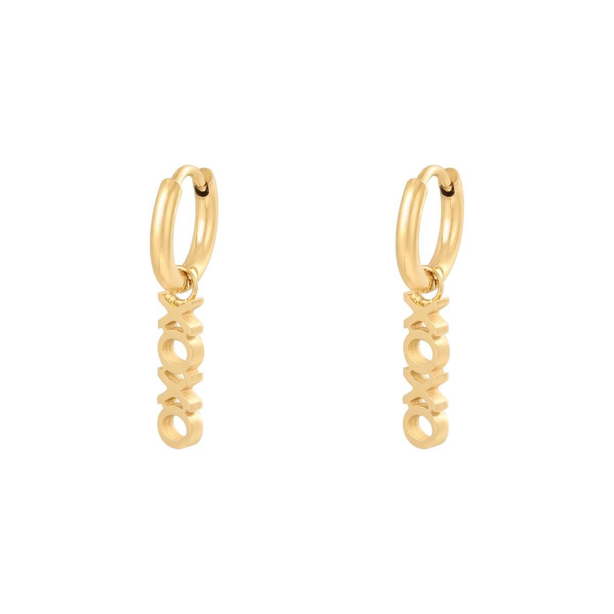 Earrings XOXO