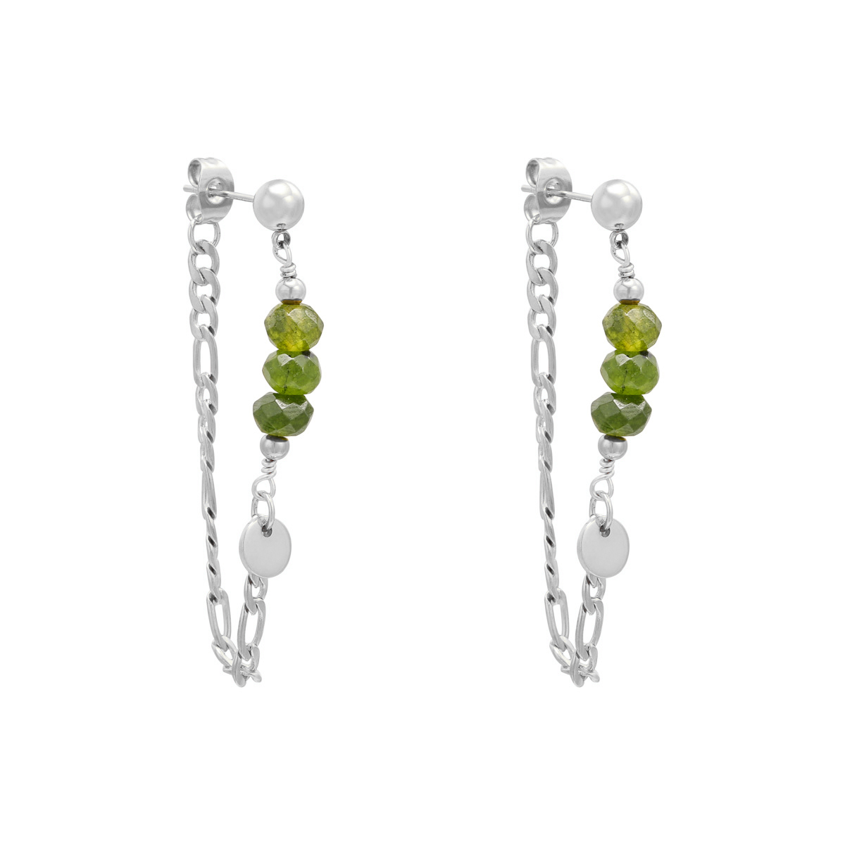 Boucles d'oreilles Chained On Beads