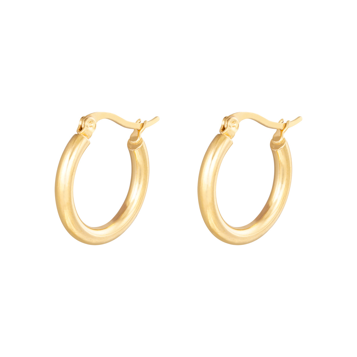 Boucles d'oreilles Hoops Smooth 22 mm