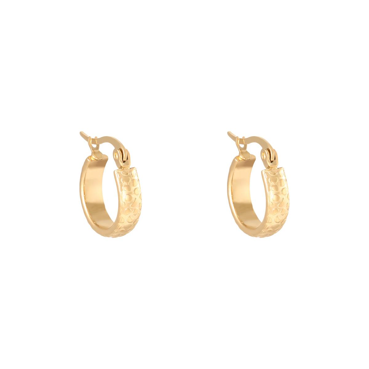 Earrings Creole Jungle