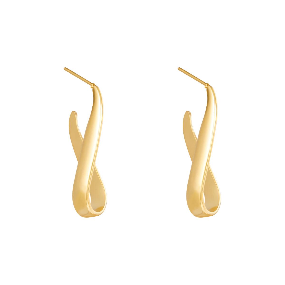 Boucles d'oreilles Wavy