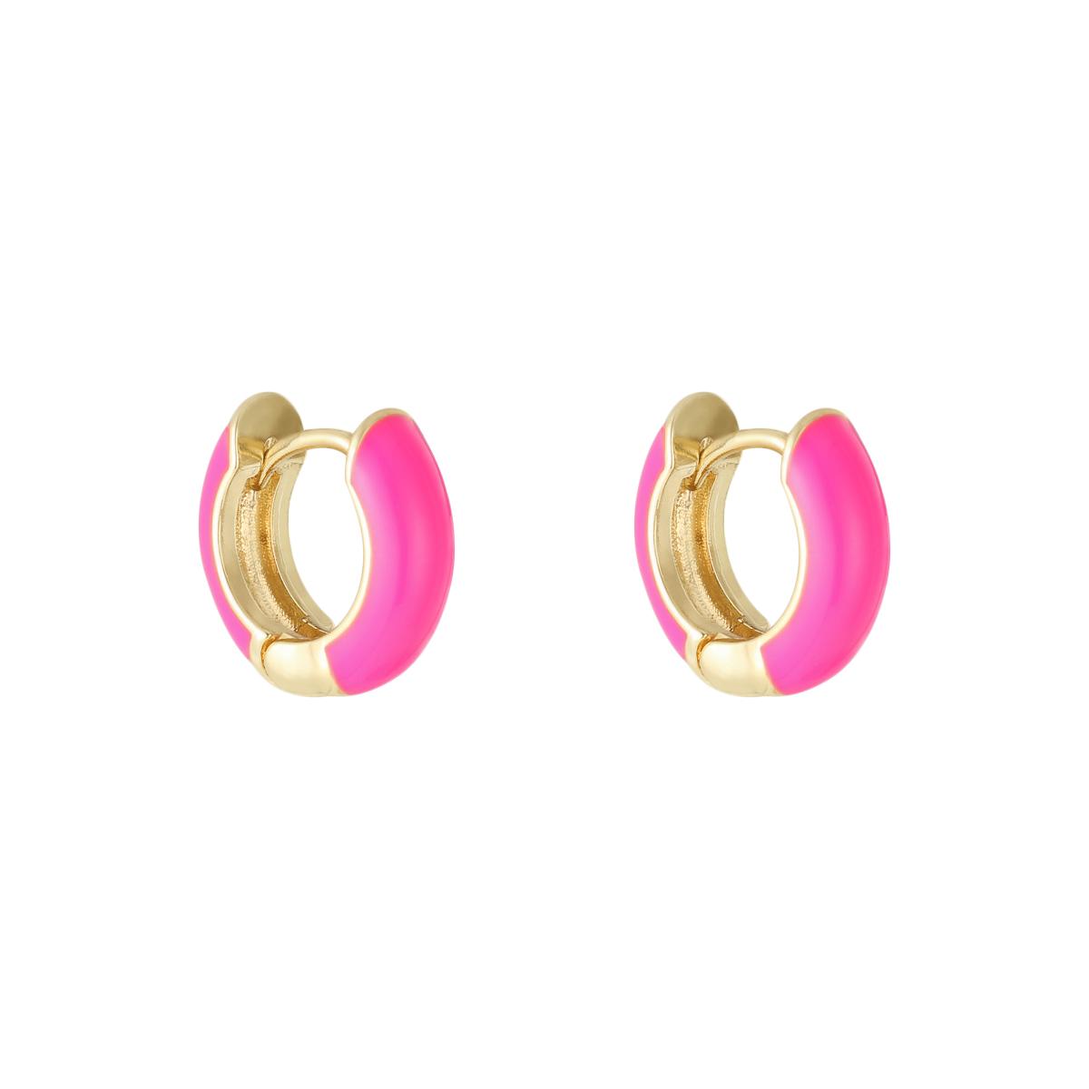 Boucles d'oreilles Happy Color