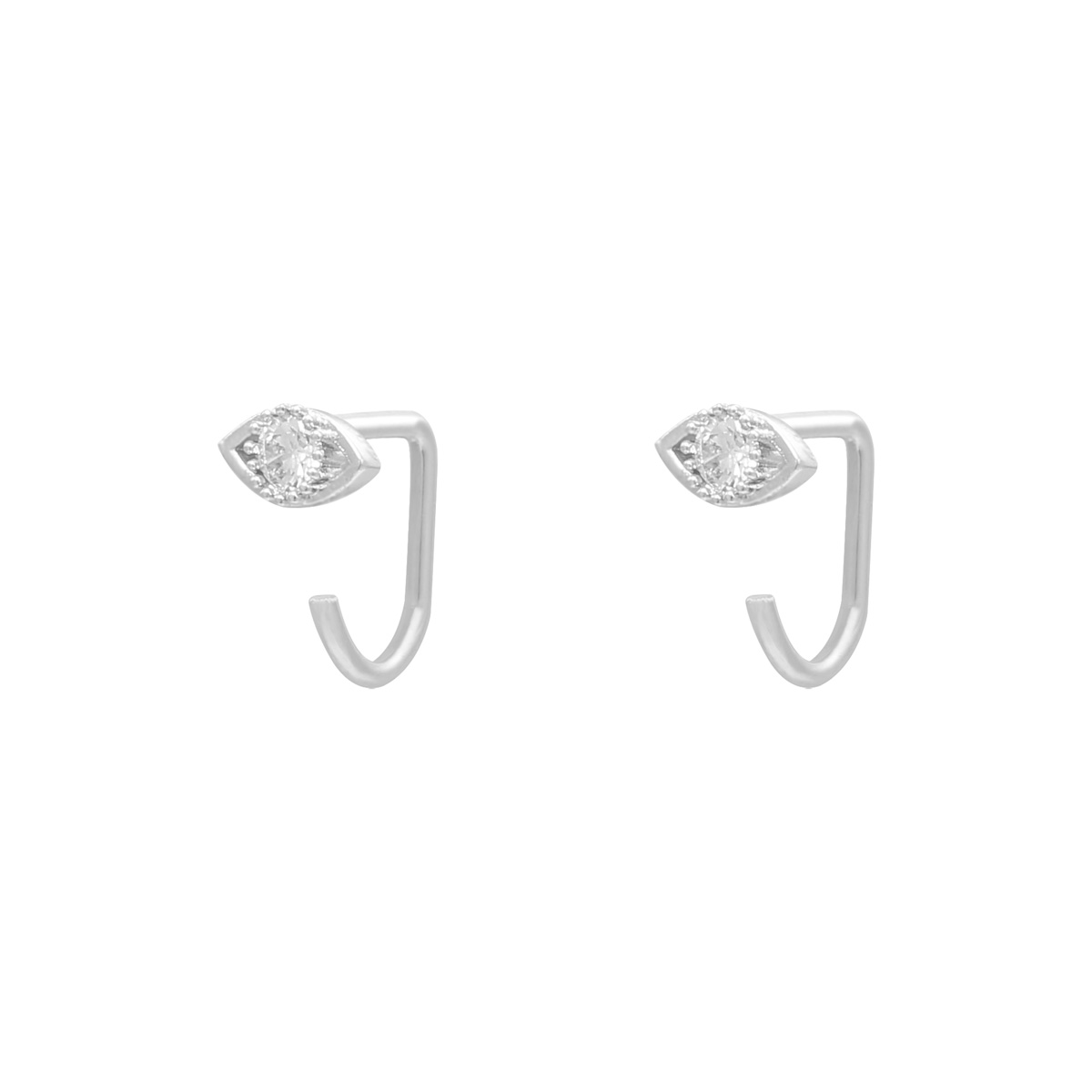 Pendientes Huggies Zircon Eye