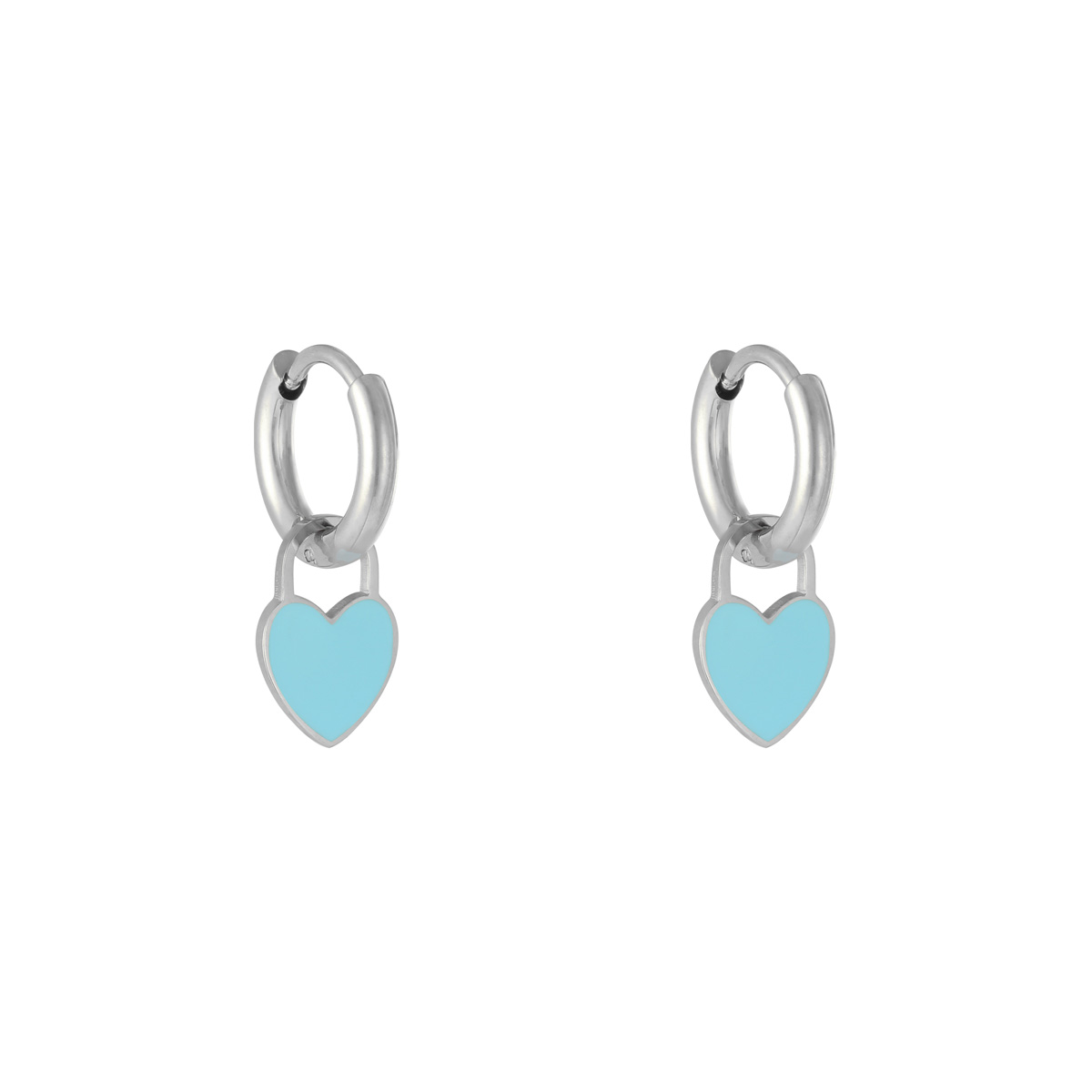 Earrings Pastel Heart