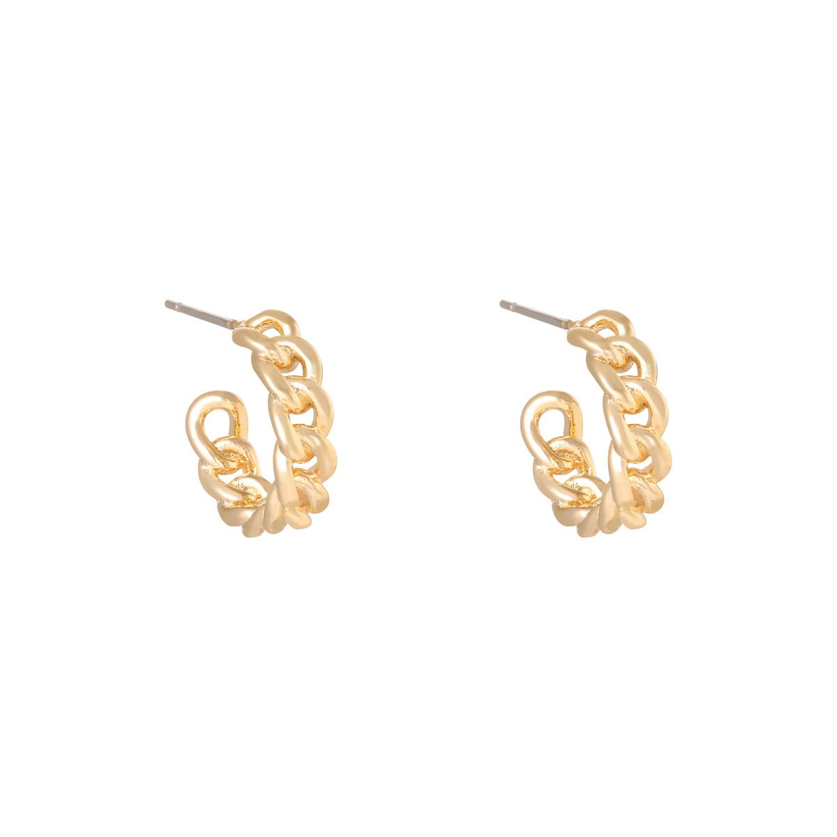 Boucles d'oreilles Classy Chain
