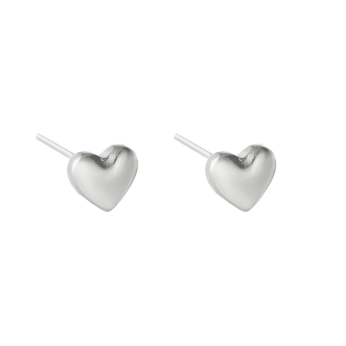 Boucles d'oreilles Bold Heart