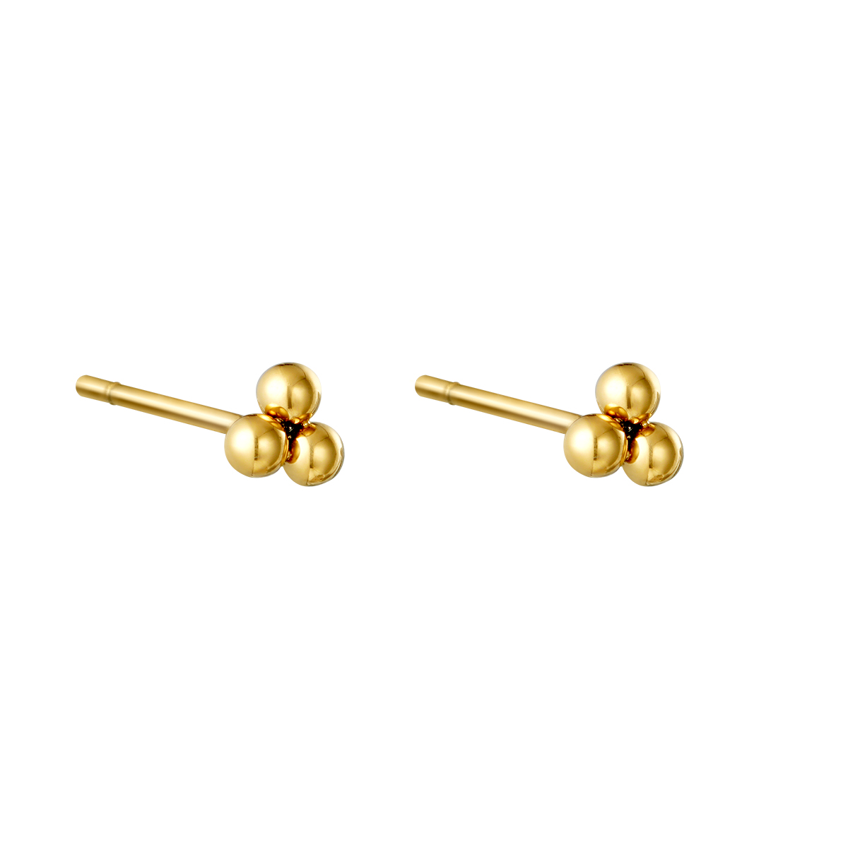 Earrings Triple Bullet