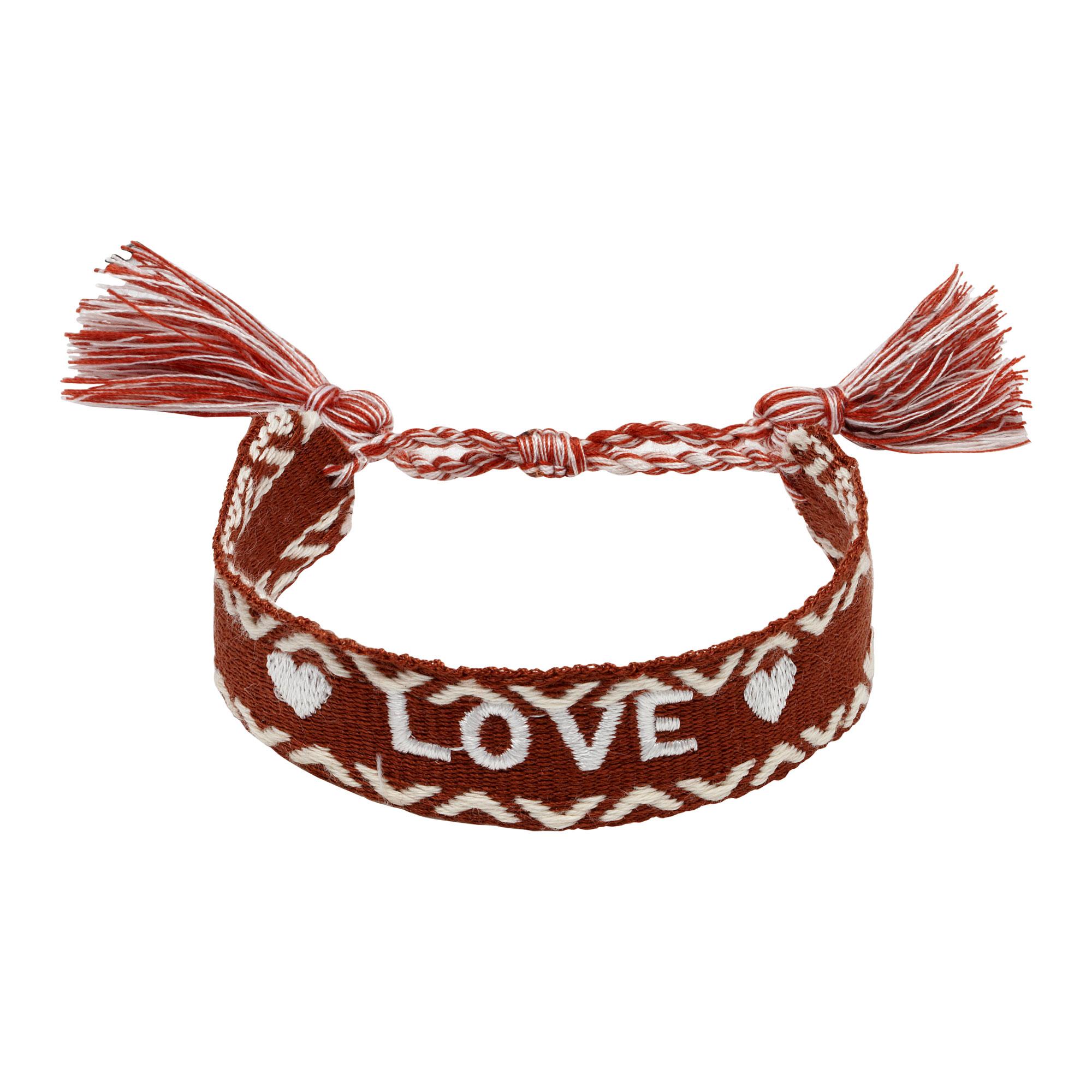 Armband woven love