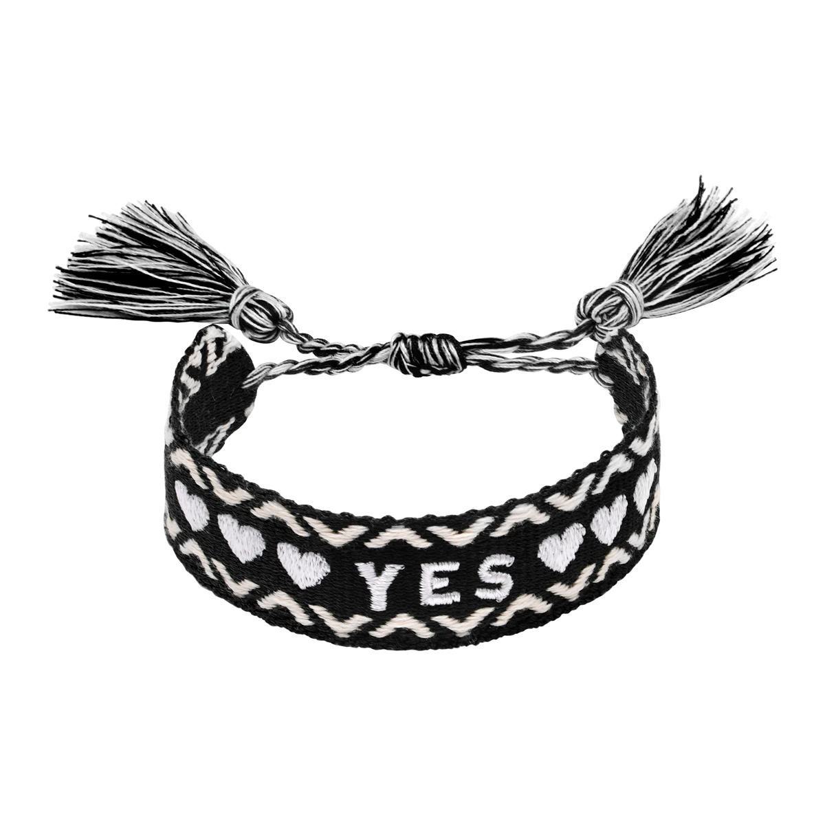 Bracelet Woven Yes
