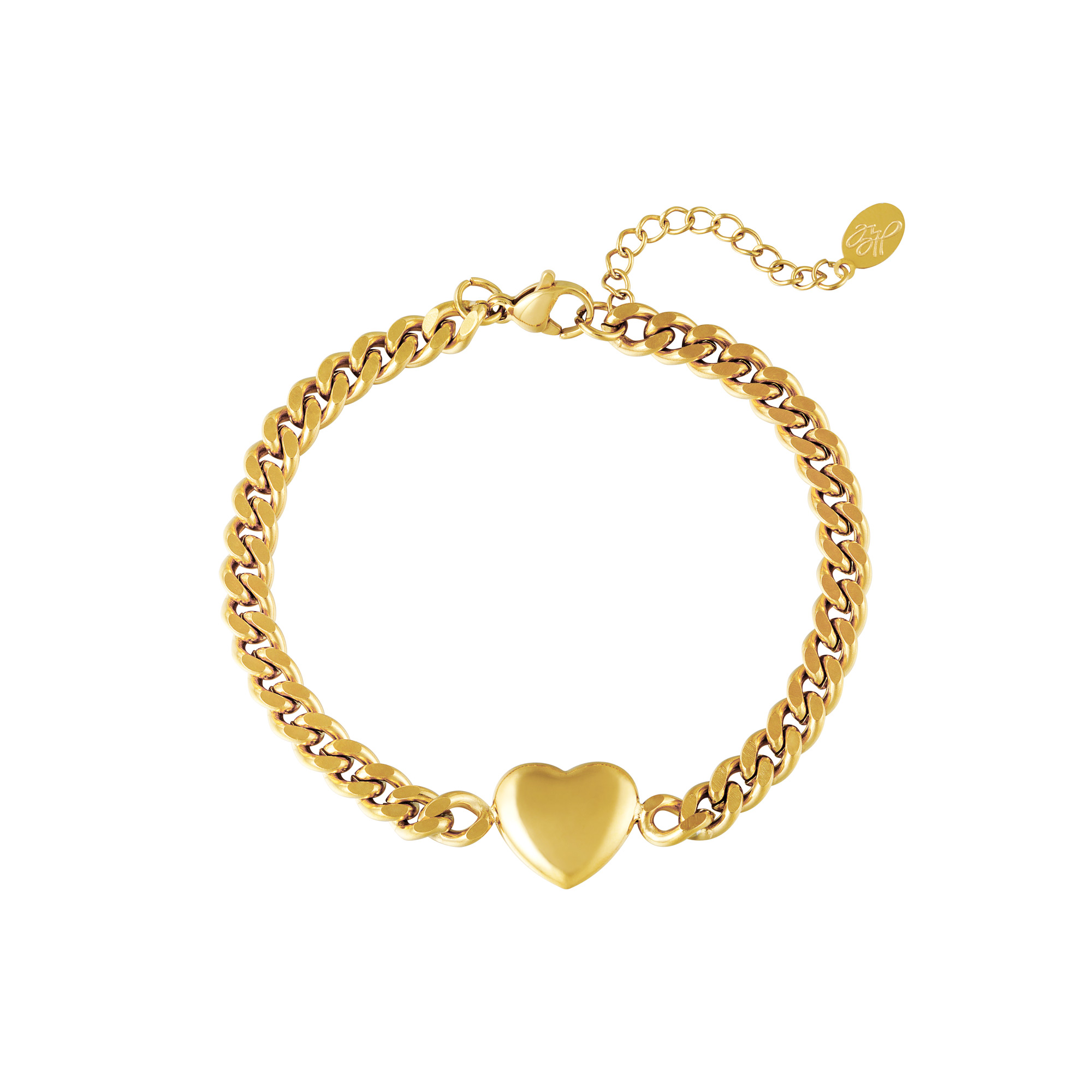 Bracelet Chained Heart