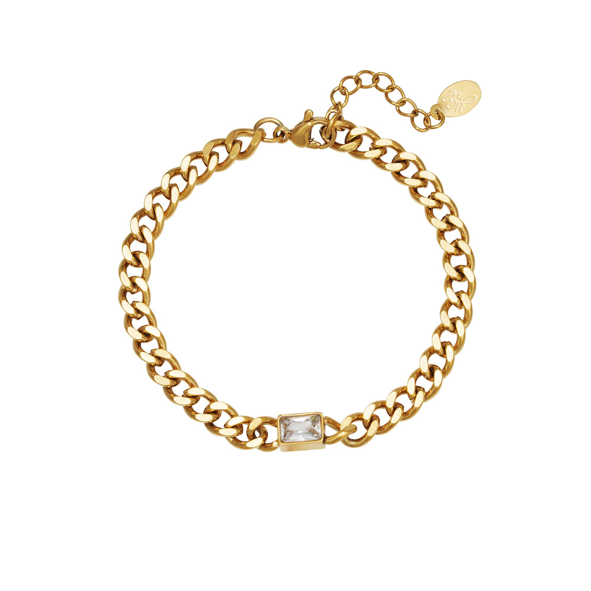 Pulsera Diamond In Chain