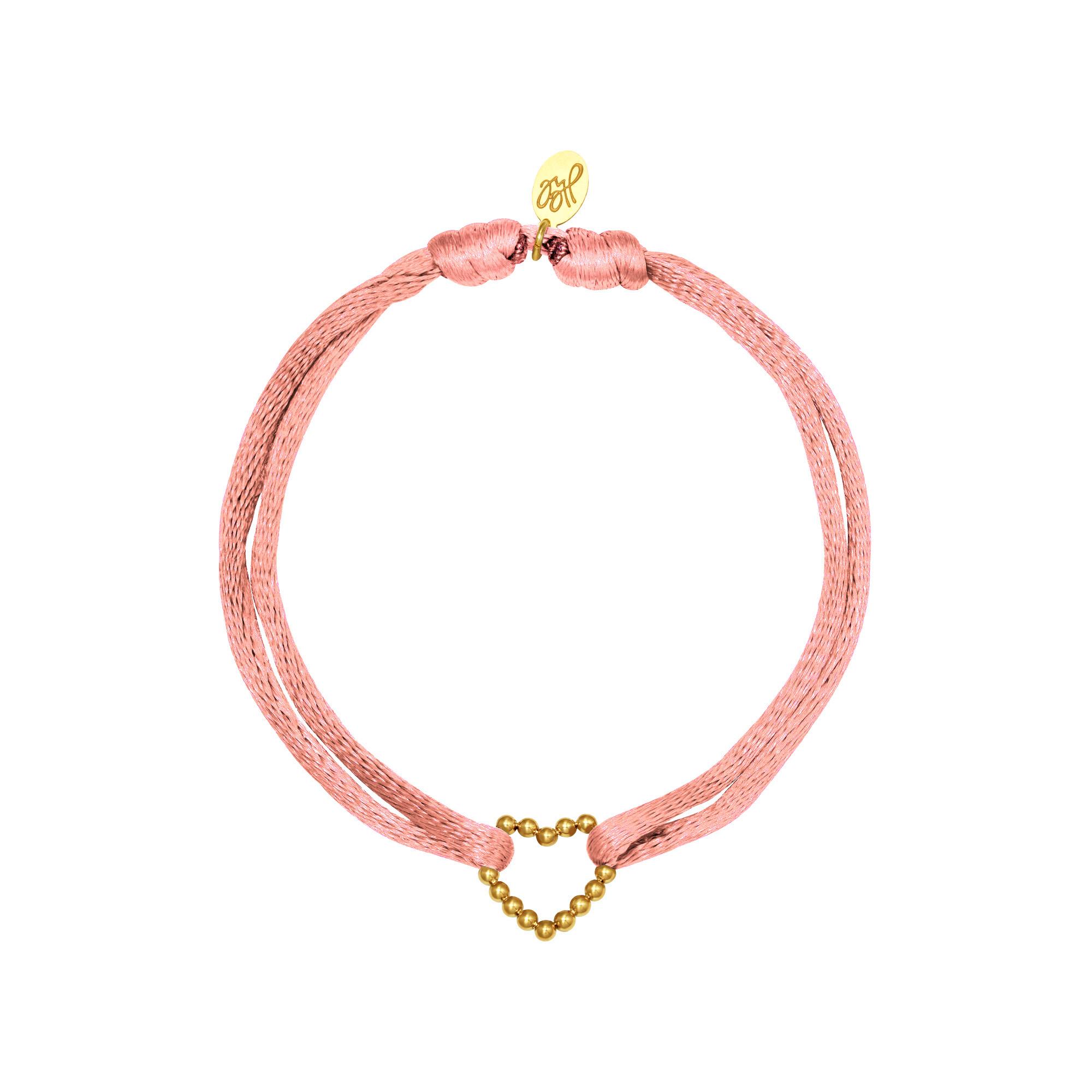 Armband satin heart