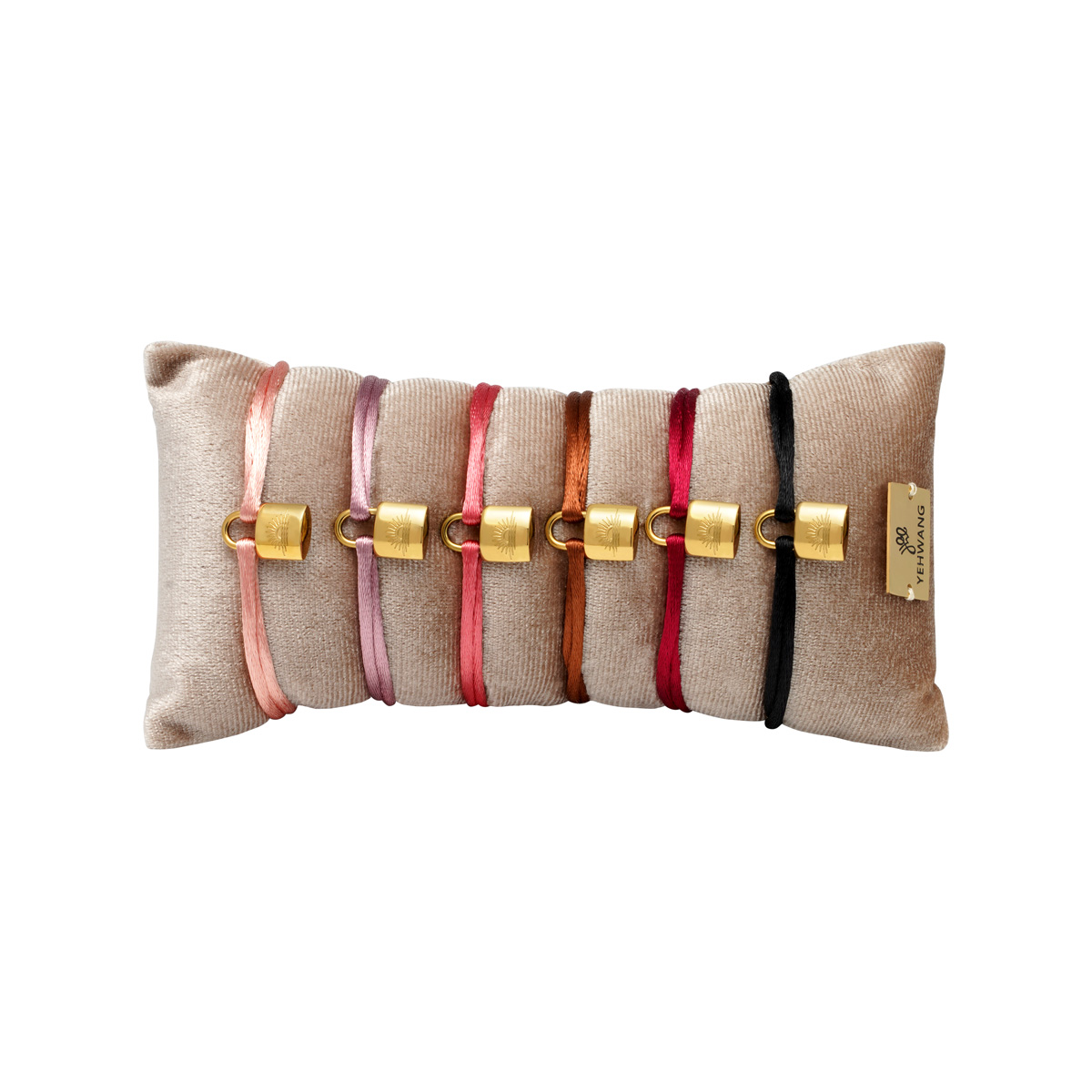 Armband-anzeigeset satin lock