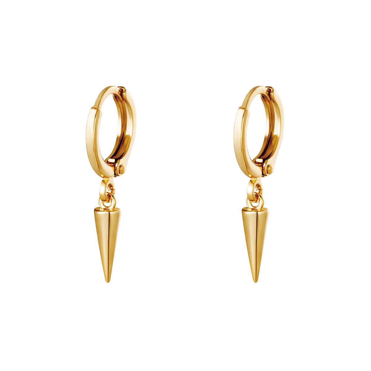 Earrings Dangling Cone