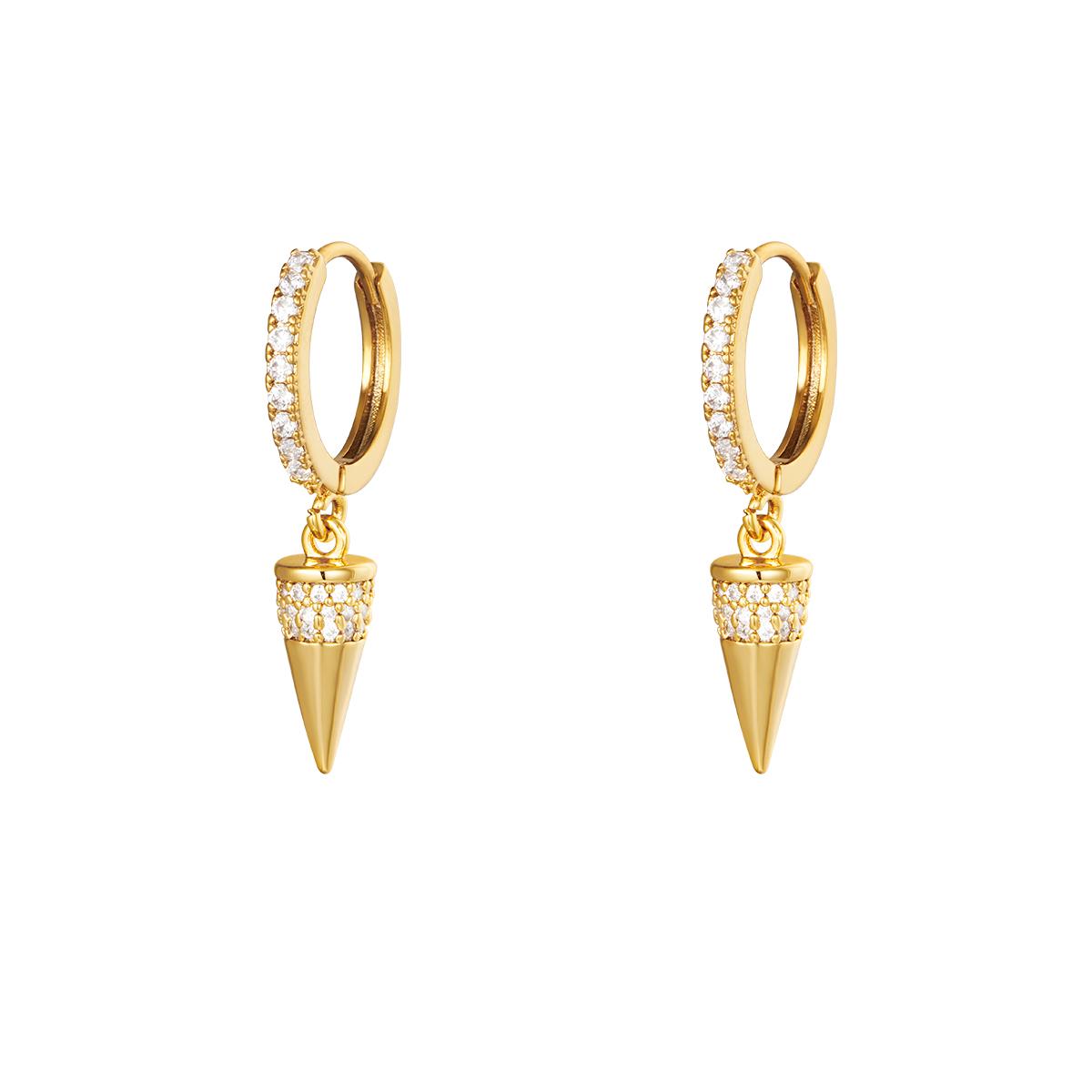 Boucles d'oreilles Diamond Cone