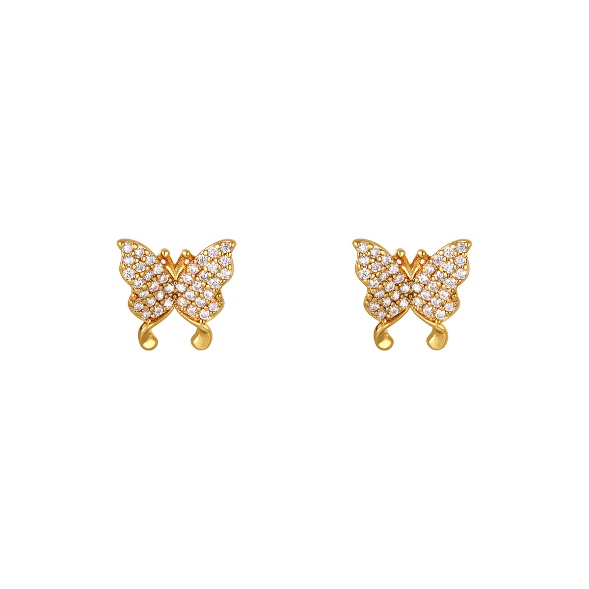 Pendientes Shiny Butterfly