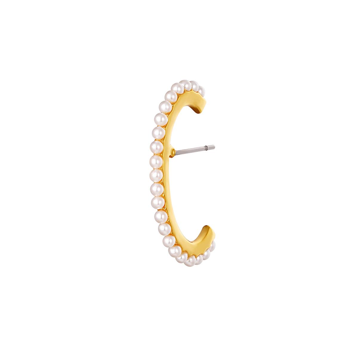 Earcuff piercing pearls