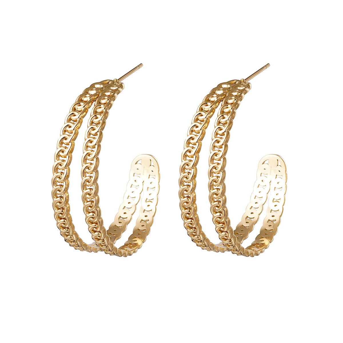 Ohrringe chain hoops