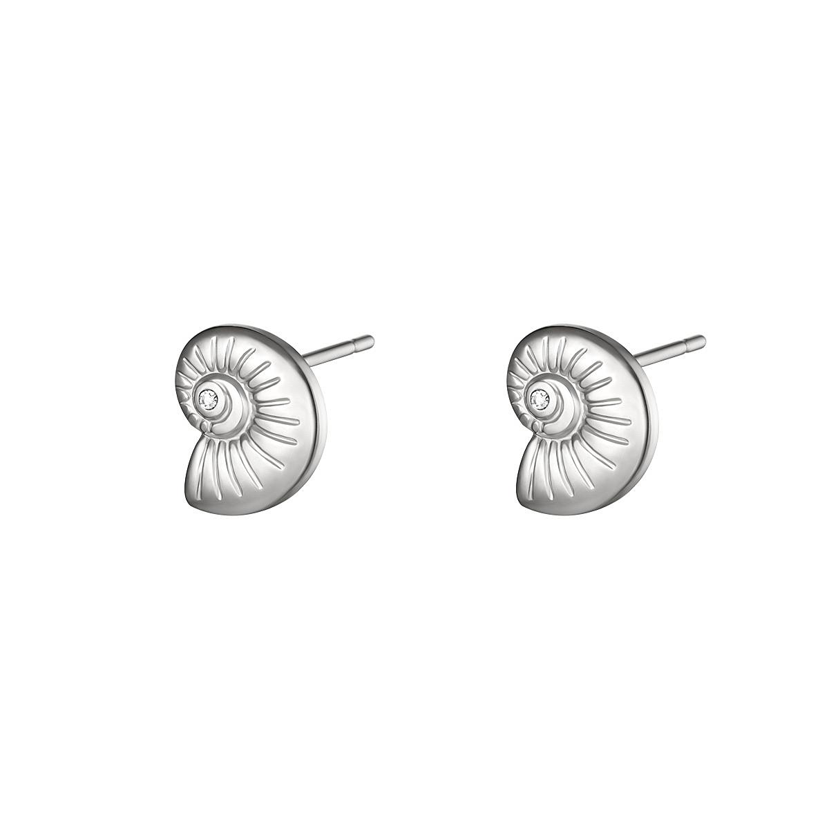 Ohrringe twisted shell