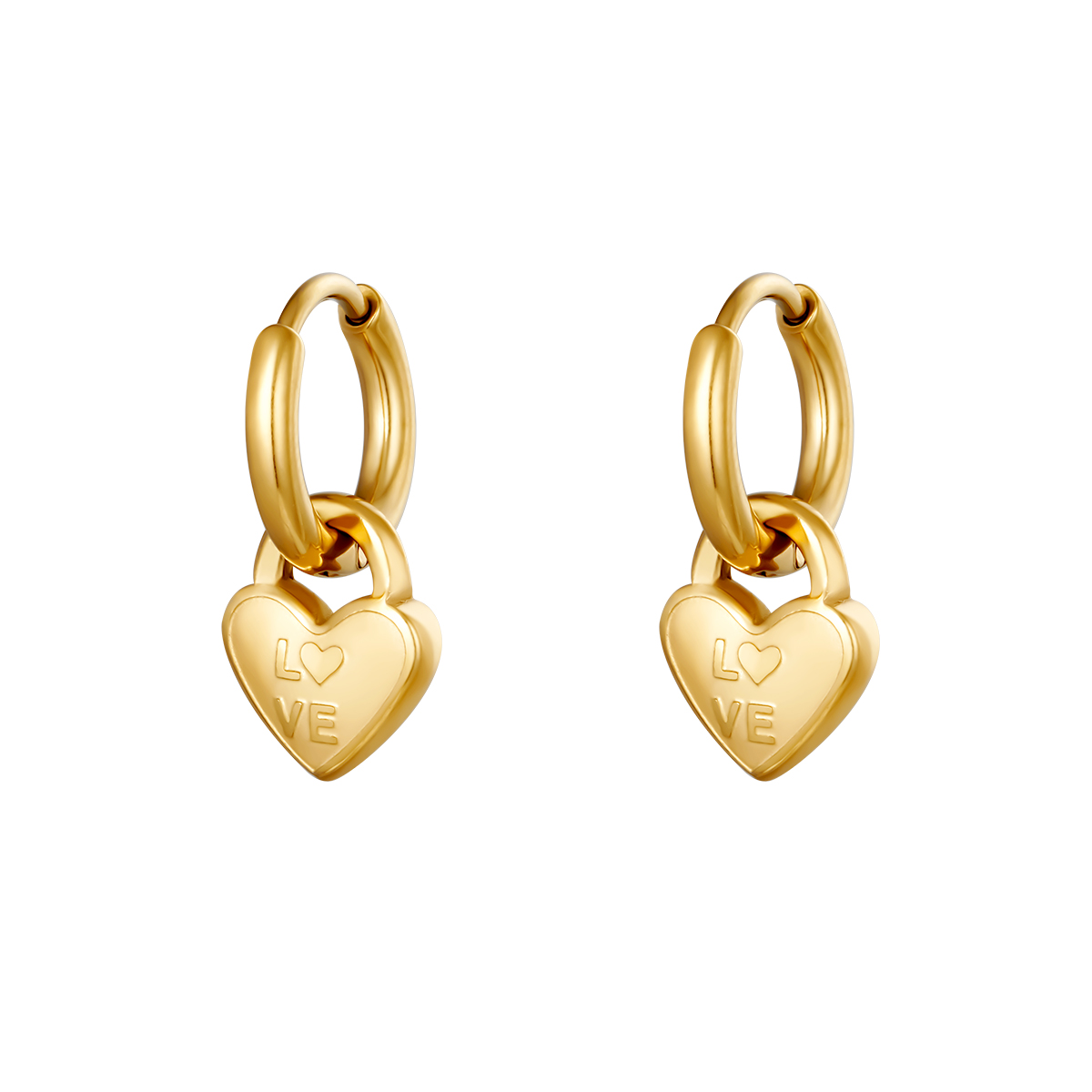 Boucles d'oreilles Locked In Love