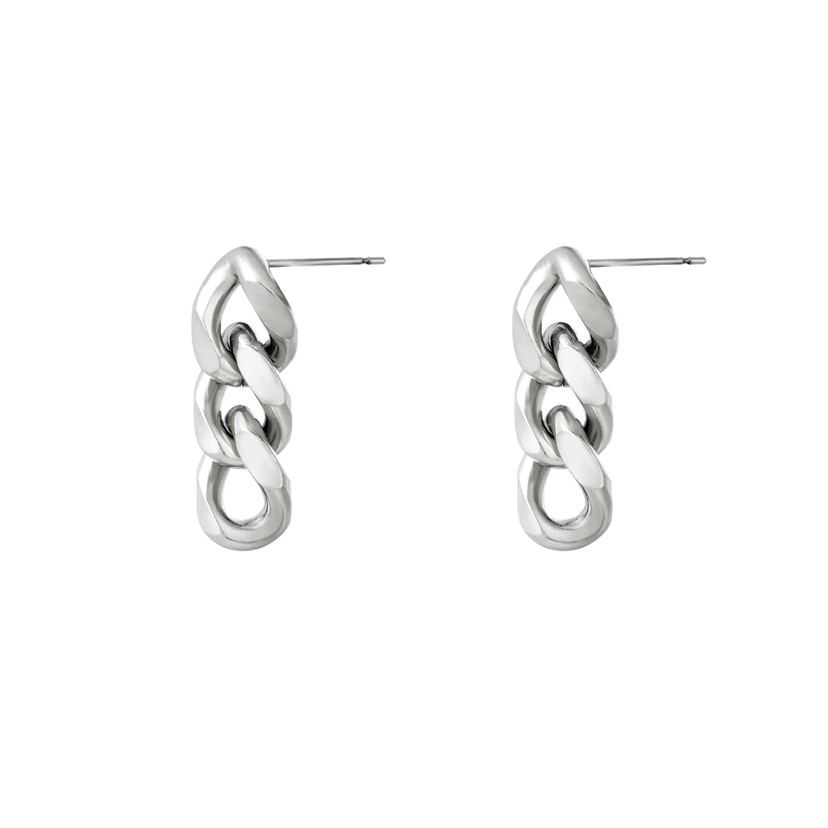 Ohrringe triple chain