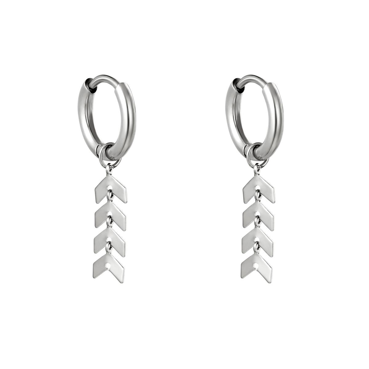 Earrings Fishbone
