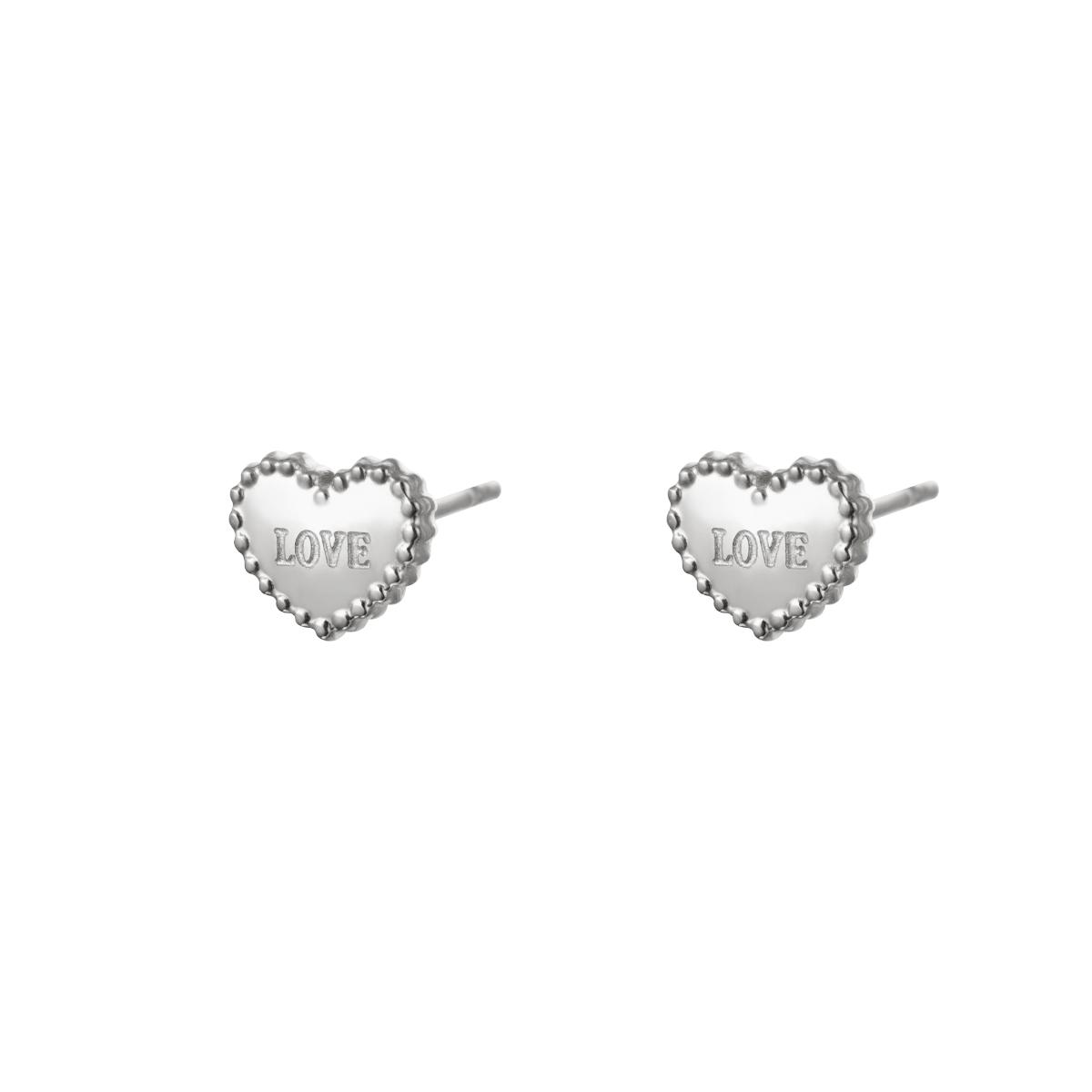 Earrings Loving Hearts Small