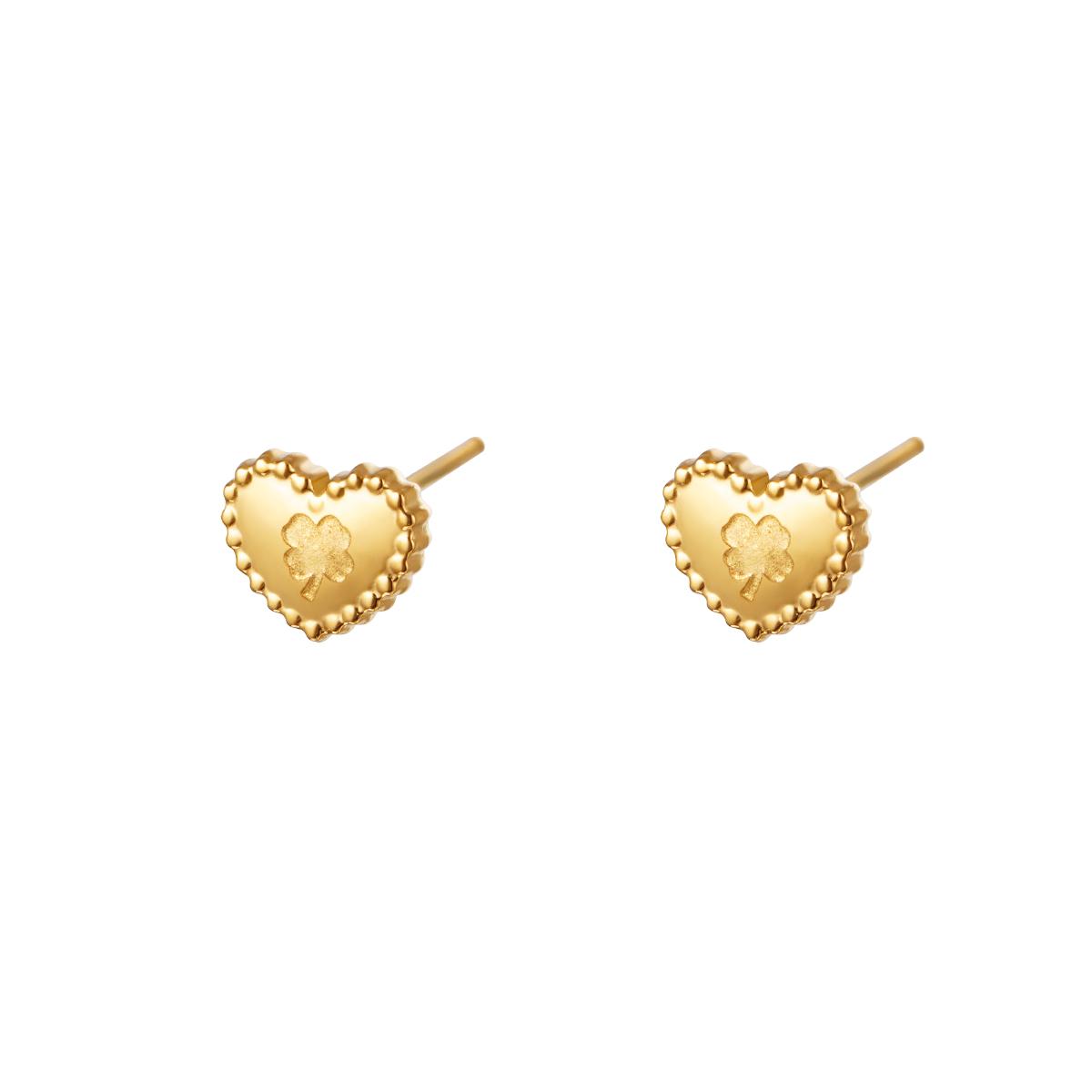 Boucles d'oreilles Lovely Clover