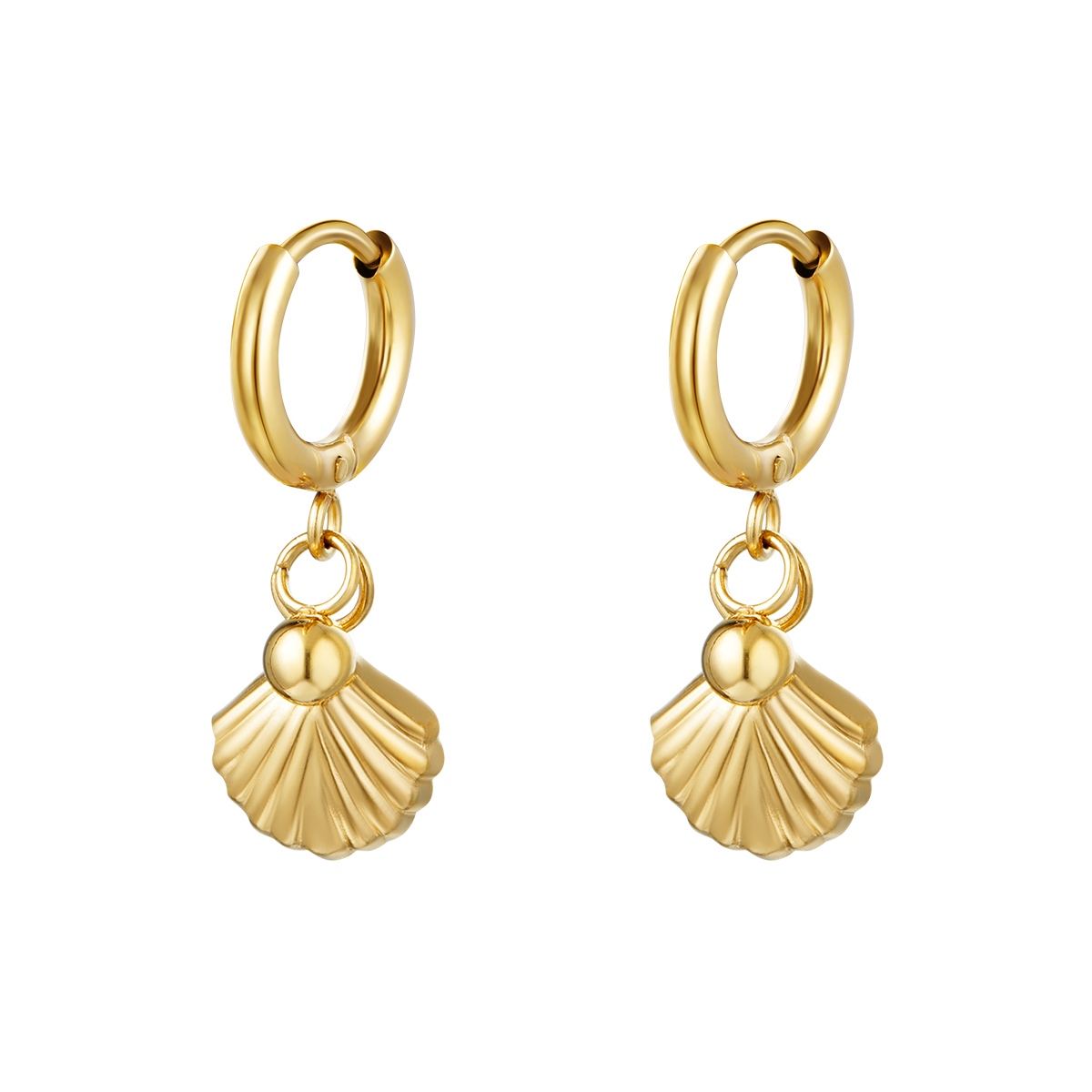 Pendientes Hanging Shell