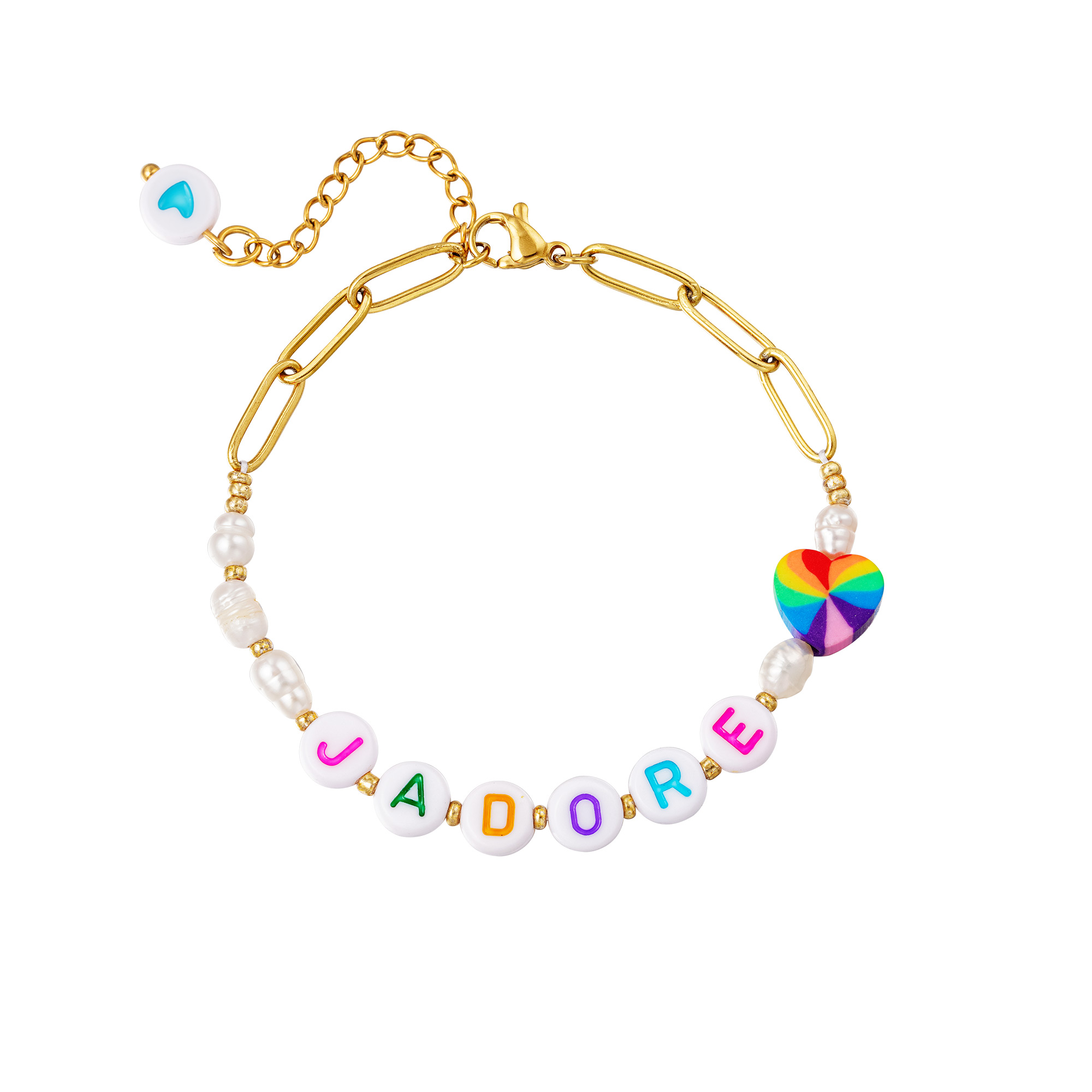 Stainless steel bracelet J'adore