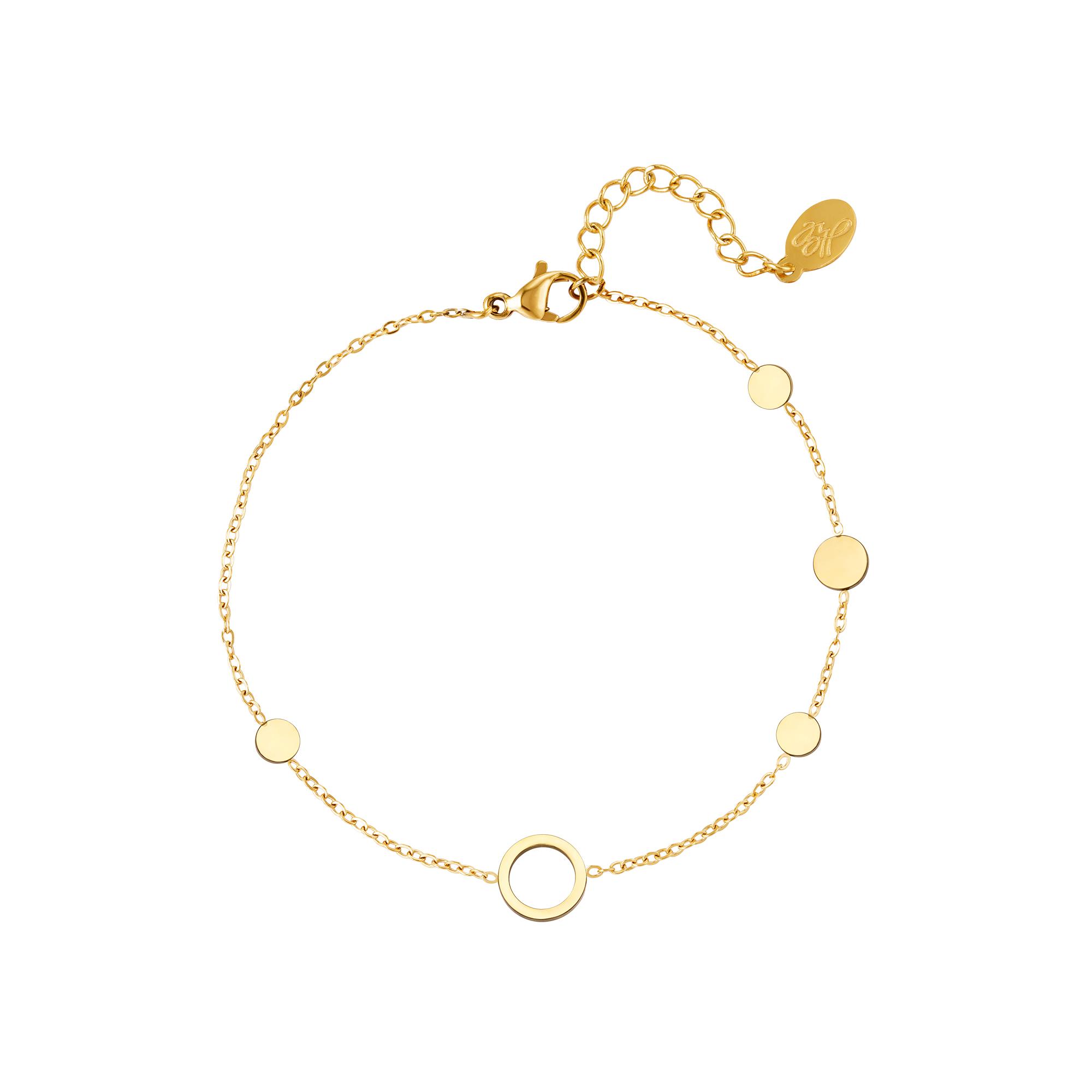 Cercles de bracelet en acier inoxydable