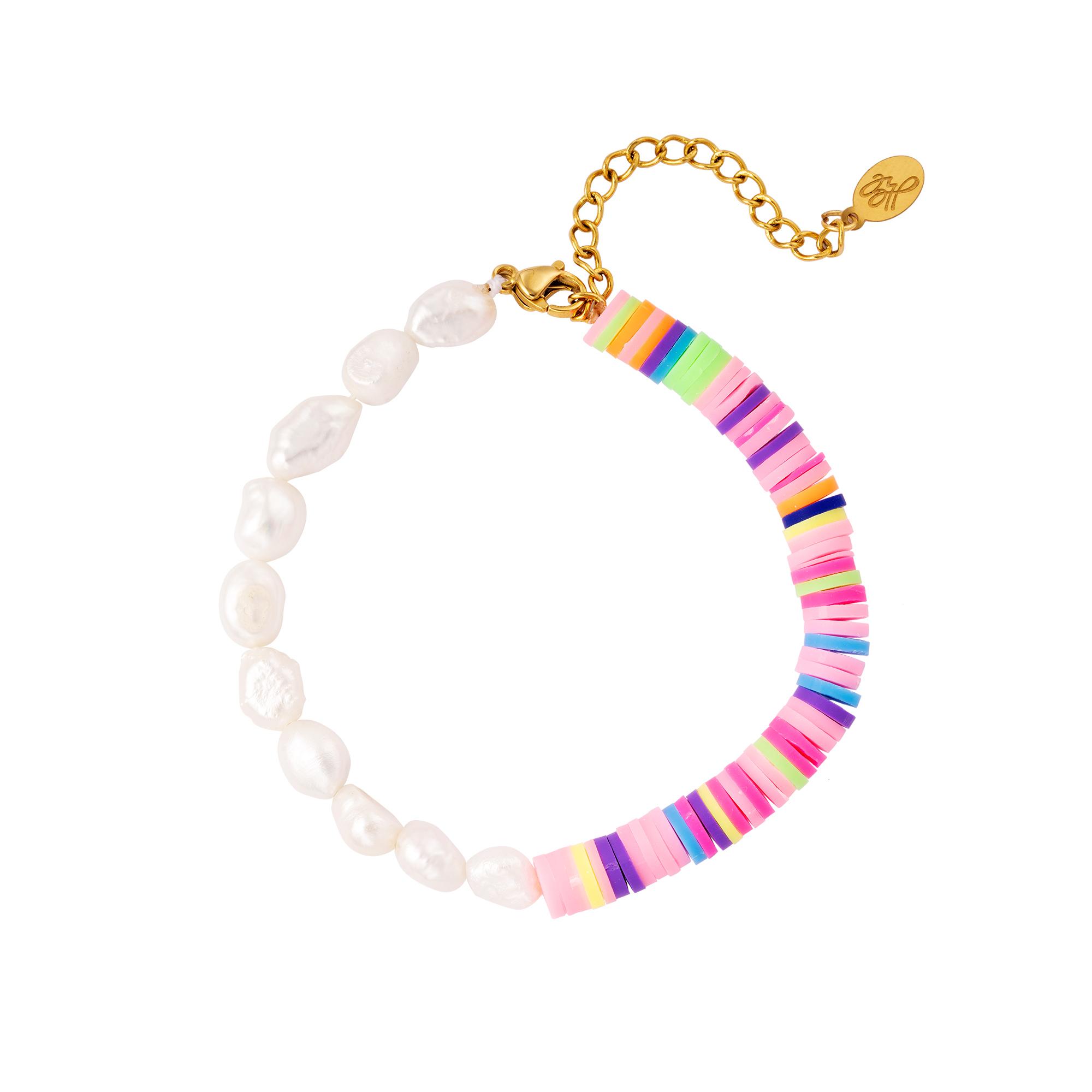 Armband regenboogkleuren